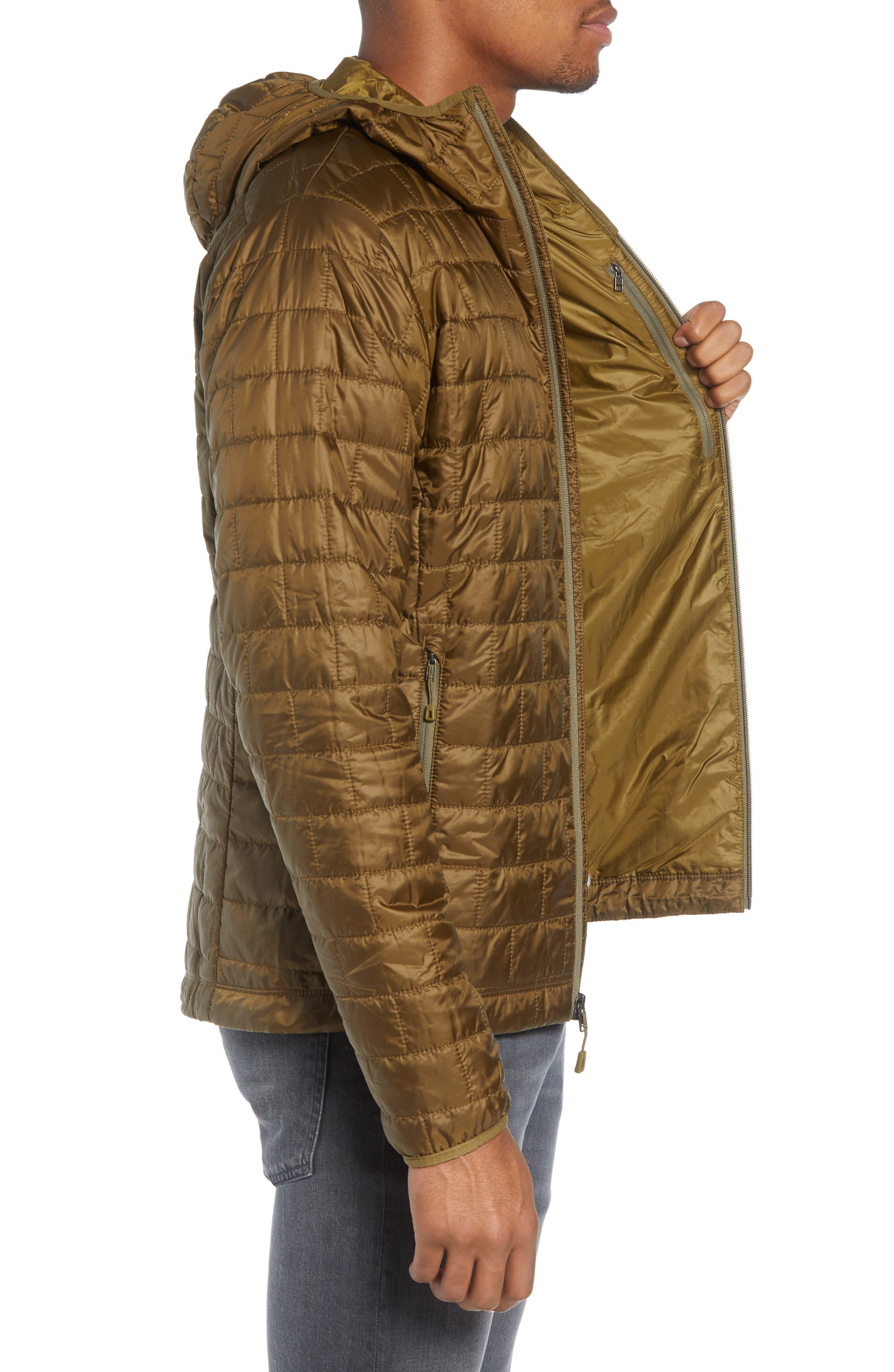 Nano Puff<sup>®</sup> Hooded Jacket,                             Alternate thumbnail 3, color,                             CARGO GREEN