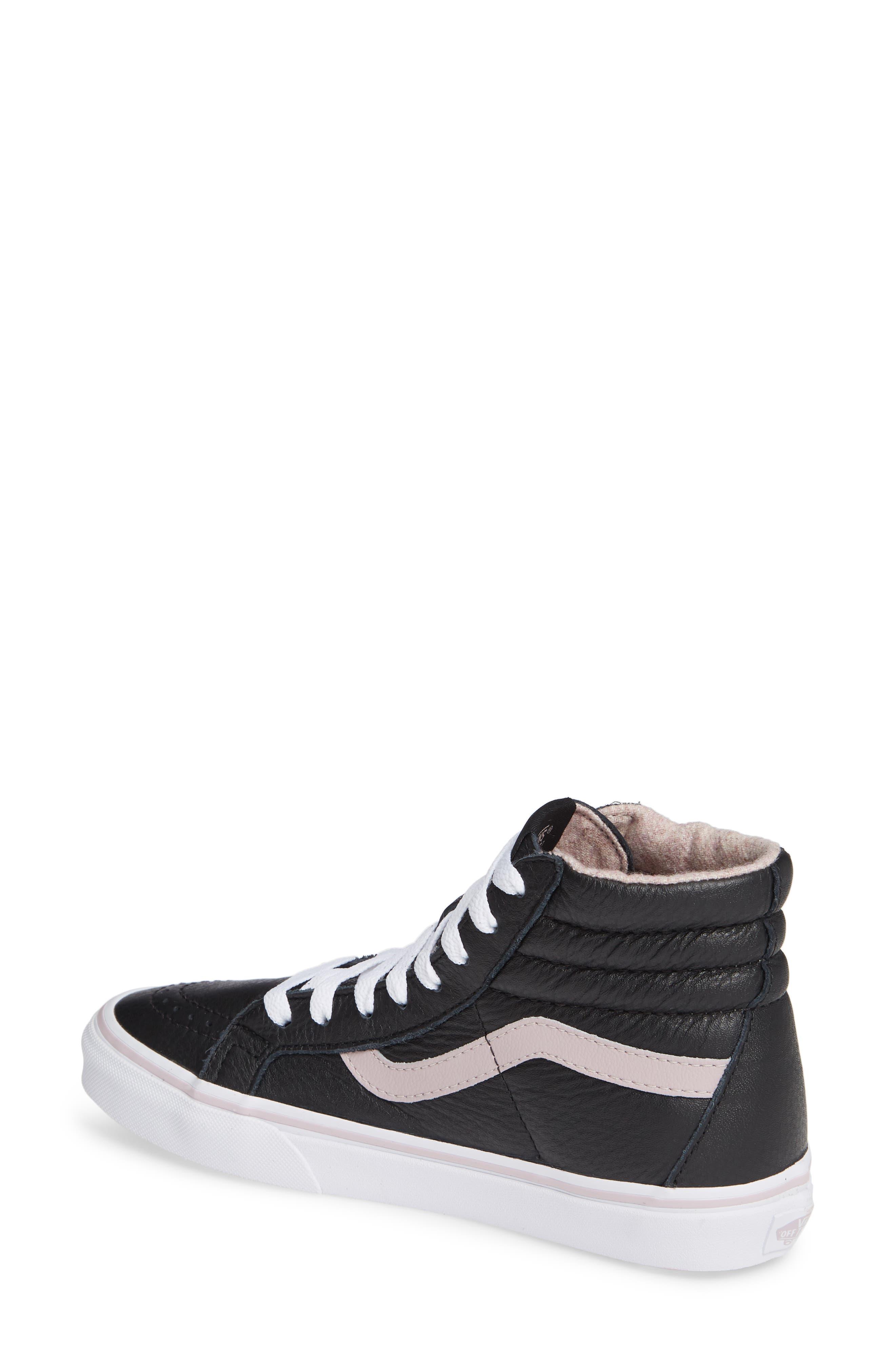 VANS,                             Sk8-Hi Reissue Sneaker,                             Alternate thumbnail 2, color,                             001