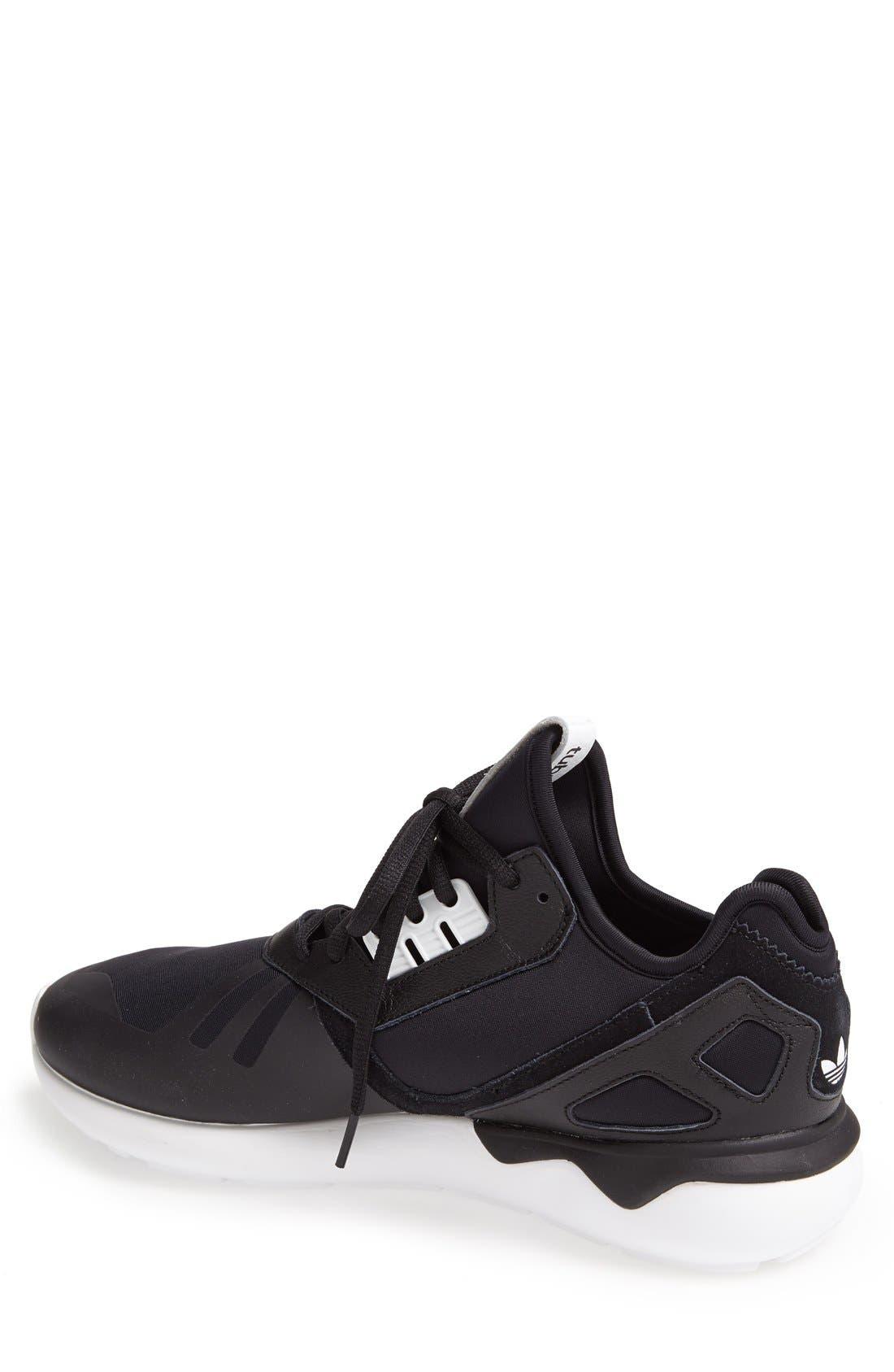 ADIDAS,                             'Tubular Runner' Sneaker,                             Alternate thumbnail 3, color,                             001