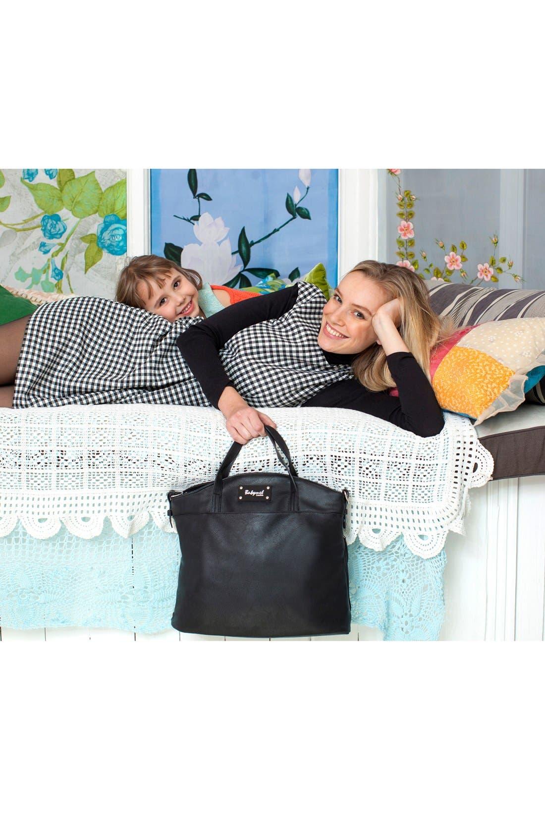 'Grace' Diaper Bag,                             Alternate thumbnail 2, color,                             BLACK