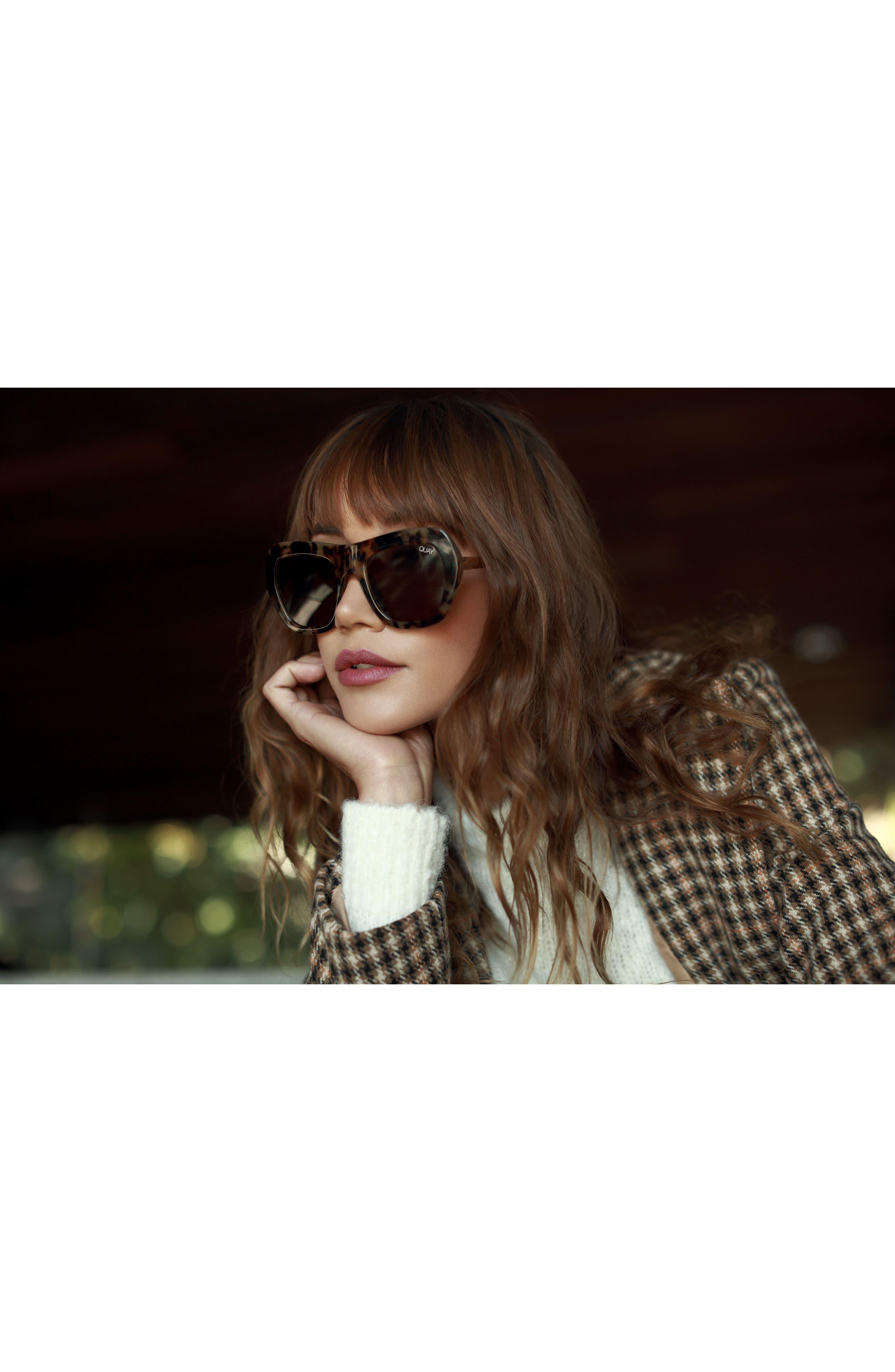 Common Love 53mm Square Sunglasses,                             Alternate thumbnail 8, color,