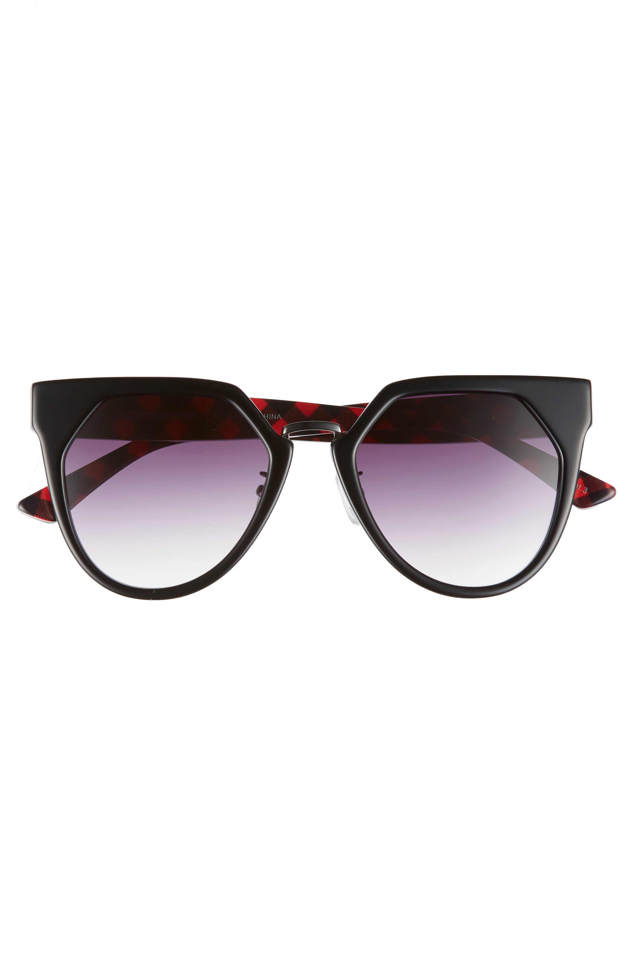 53mm Cat Eye Sunglasses,                             Alternate thumbnail 5, color,