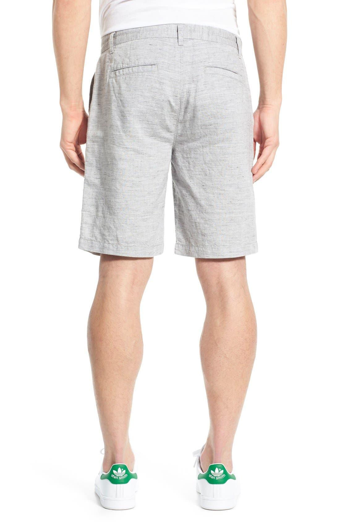 'Thompson' Slim Fit Shorts,                             Alternate thumbnail 2, color,                             020