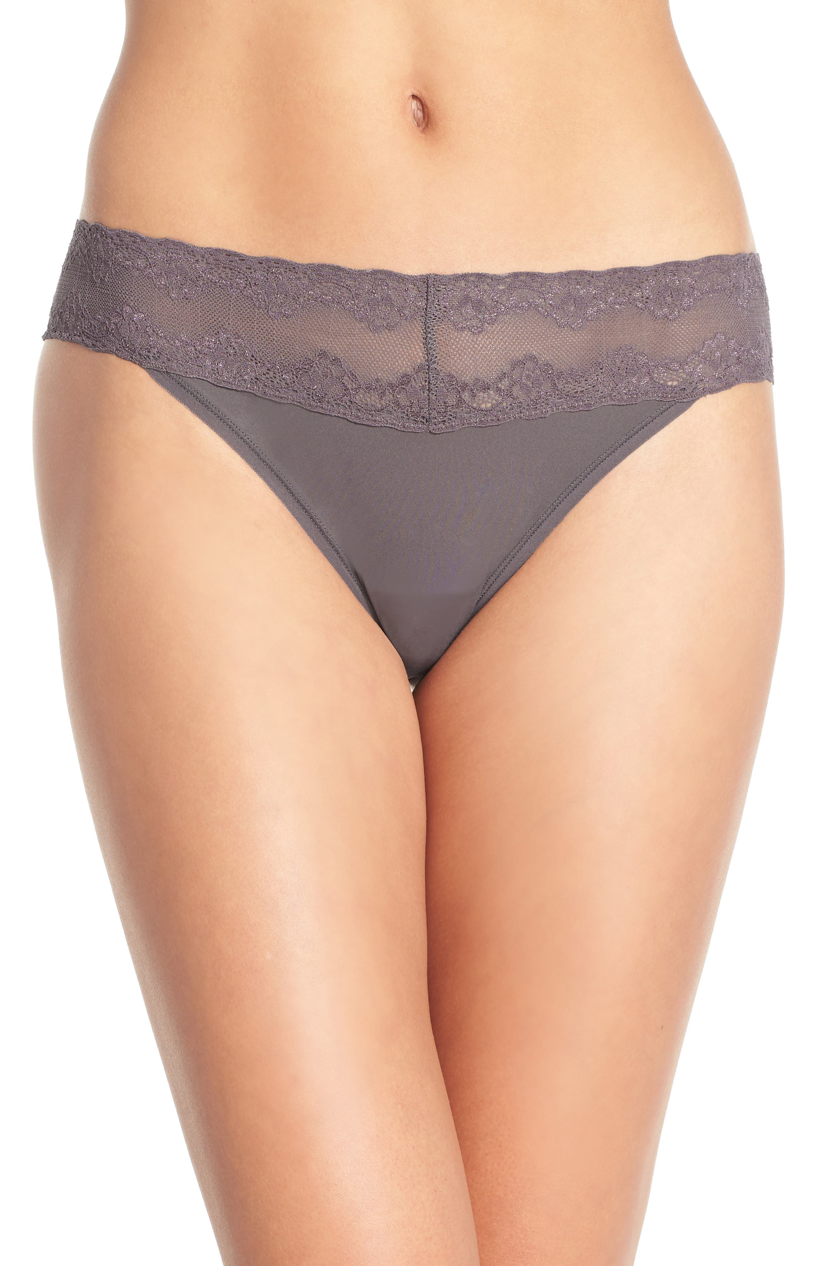 Bliss Perfection Thong,                             Alternate thumbnail 425, color,