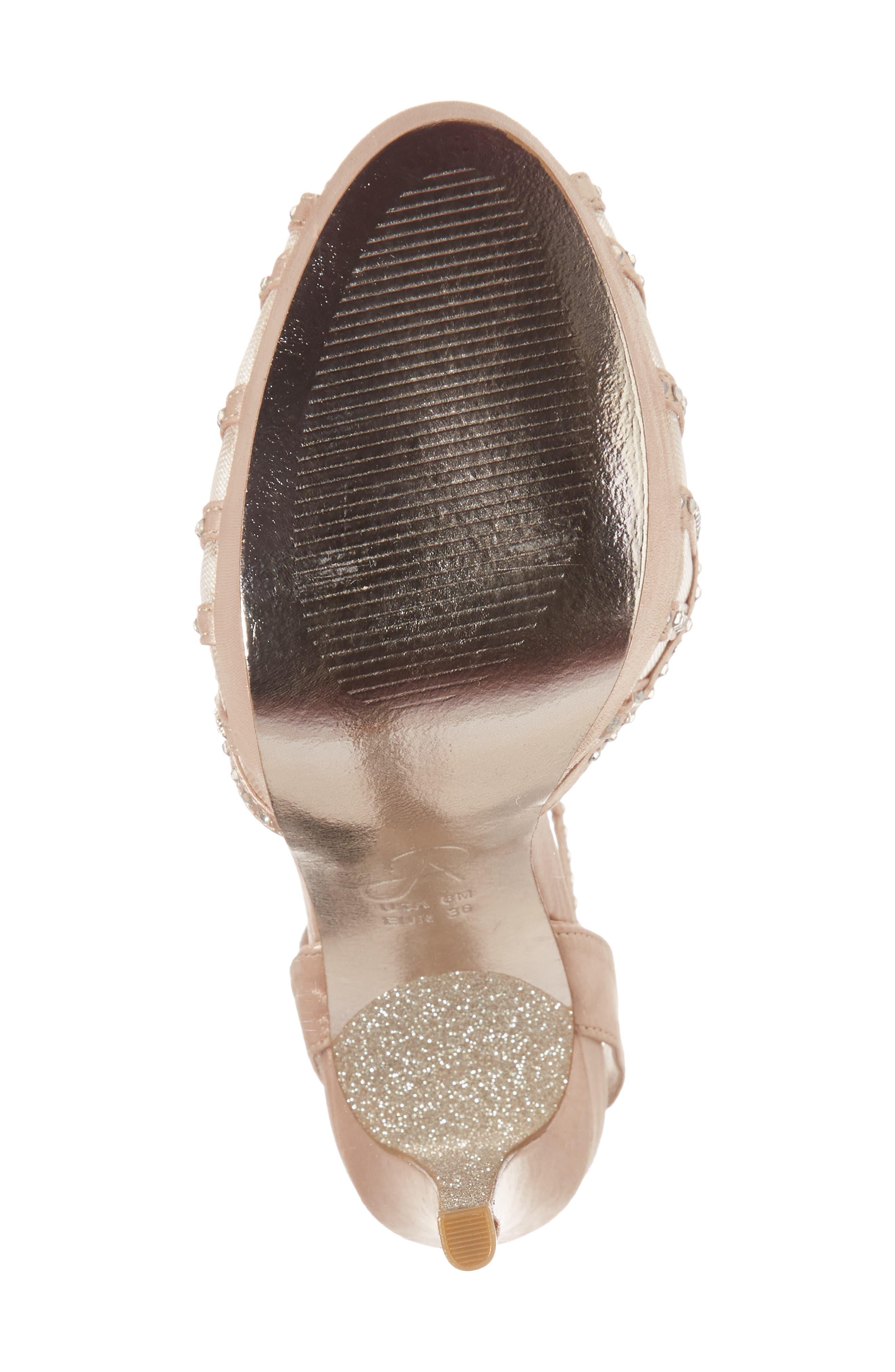 Simone Crystal Embellished Platform Sandal,                             Alternate thumbnail 23, color,