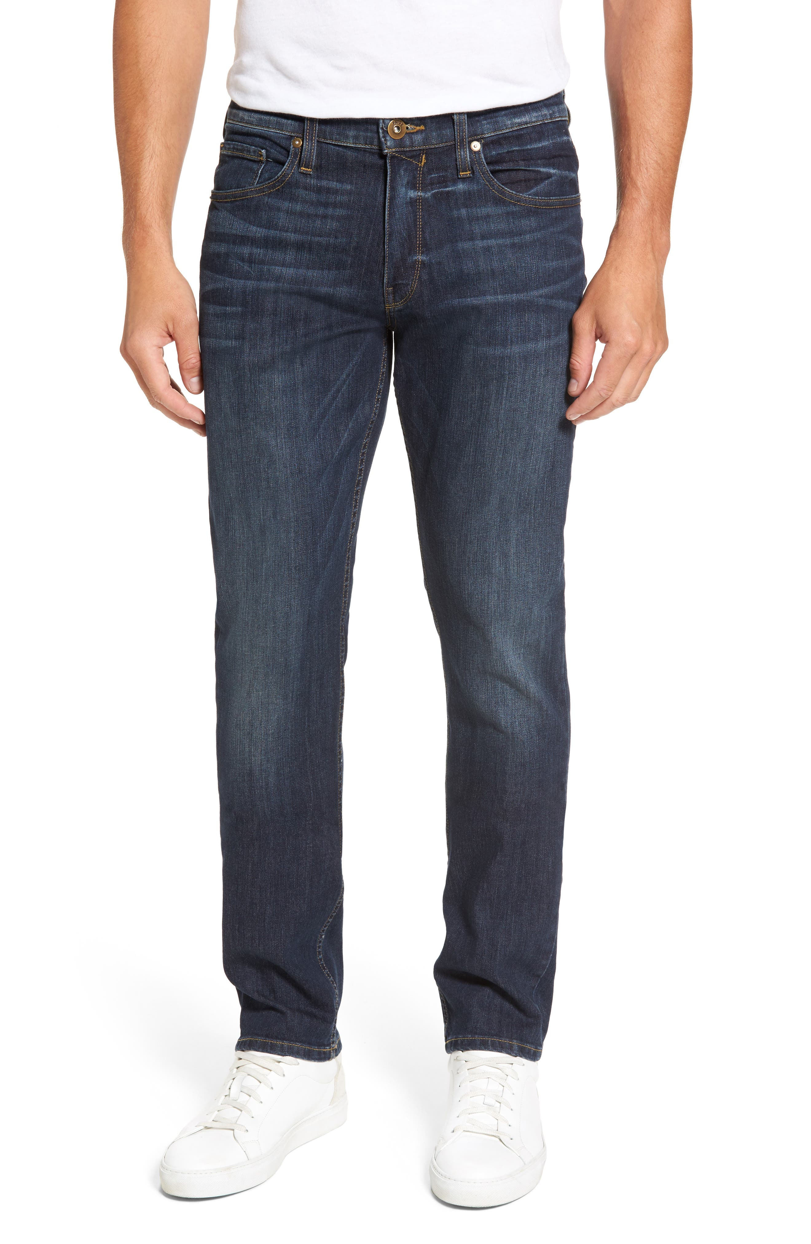 PAIGE Legacy - Federal Slim Straight Leg Jeans, Main, color, 400
