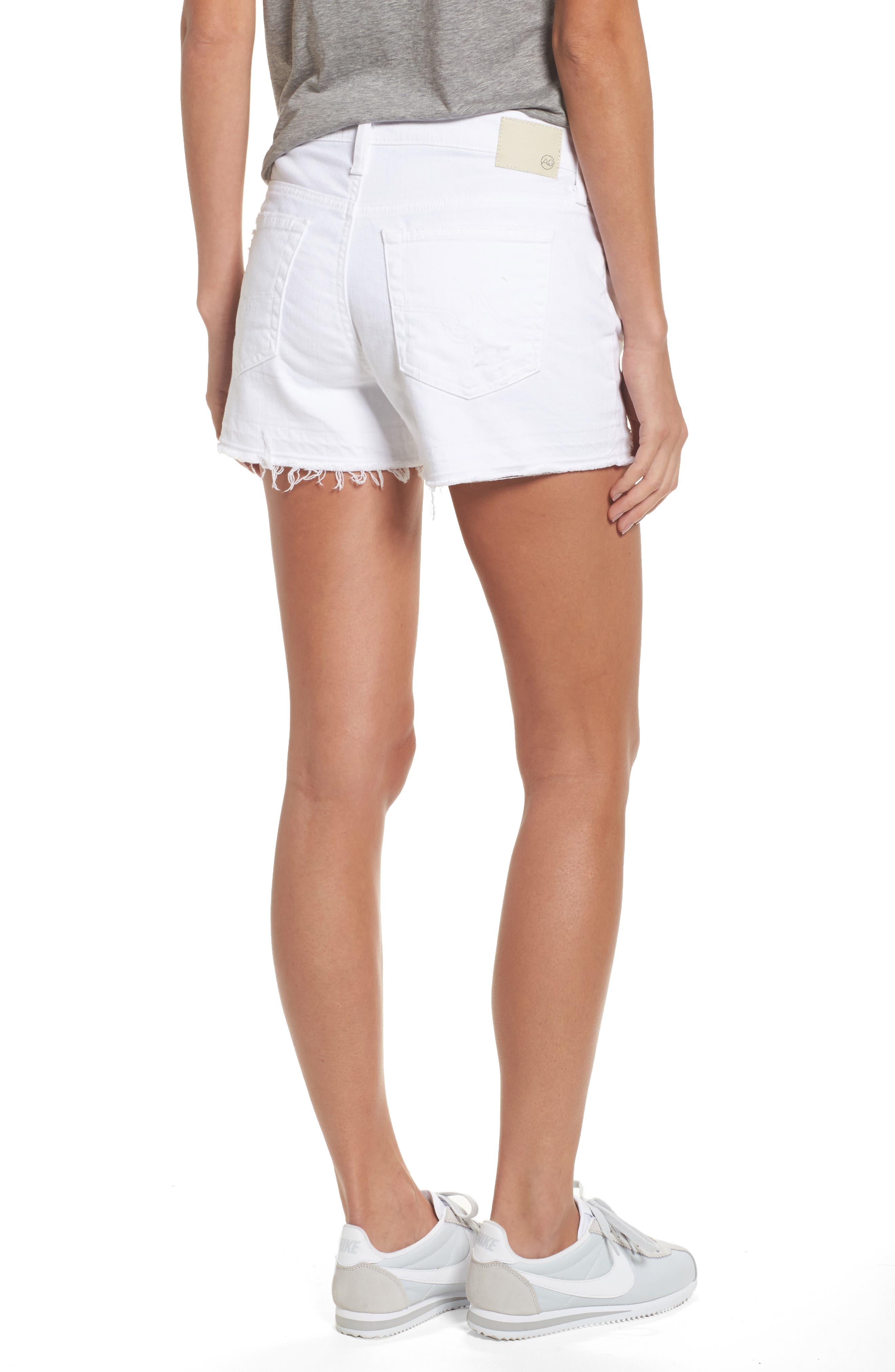 Bryn High Rise Cutoff Denim Shorts,                             Alternate thumbnail 2, color,                             158