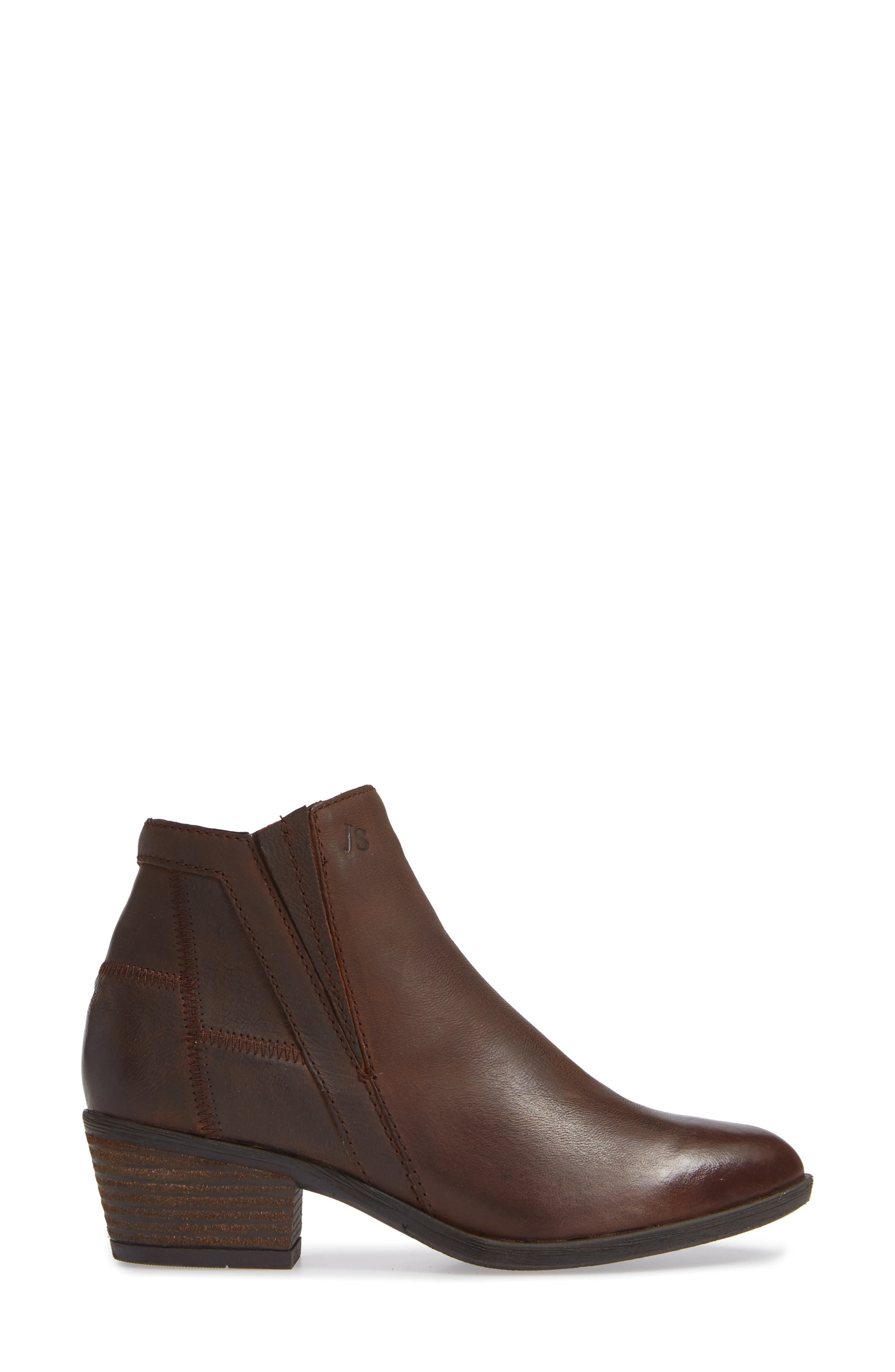 JOSEF SEIBEL,                             Daphne Bootie,                             Alternate thumbnail 3, color,                             MORO WASHED LEATHER