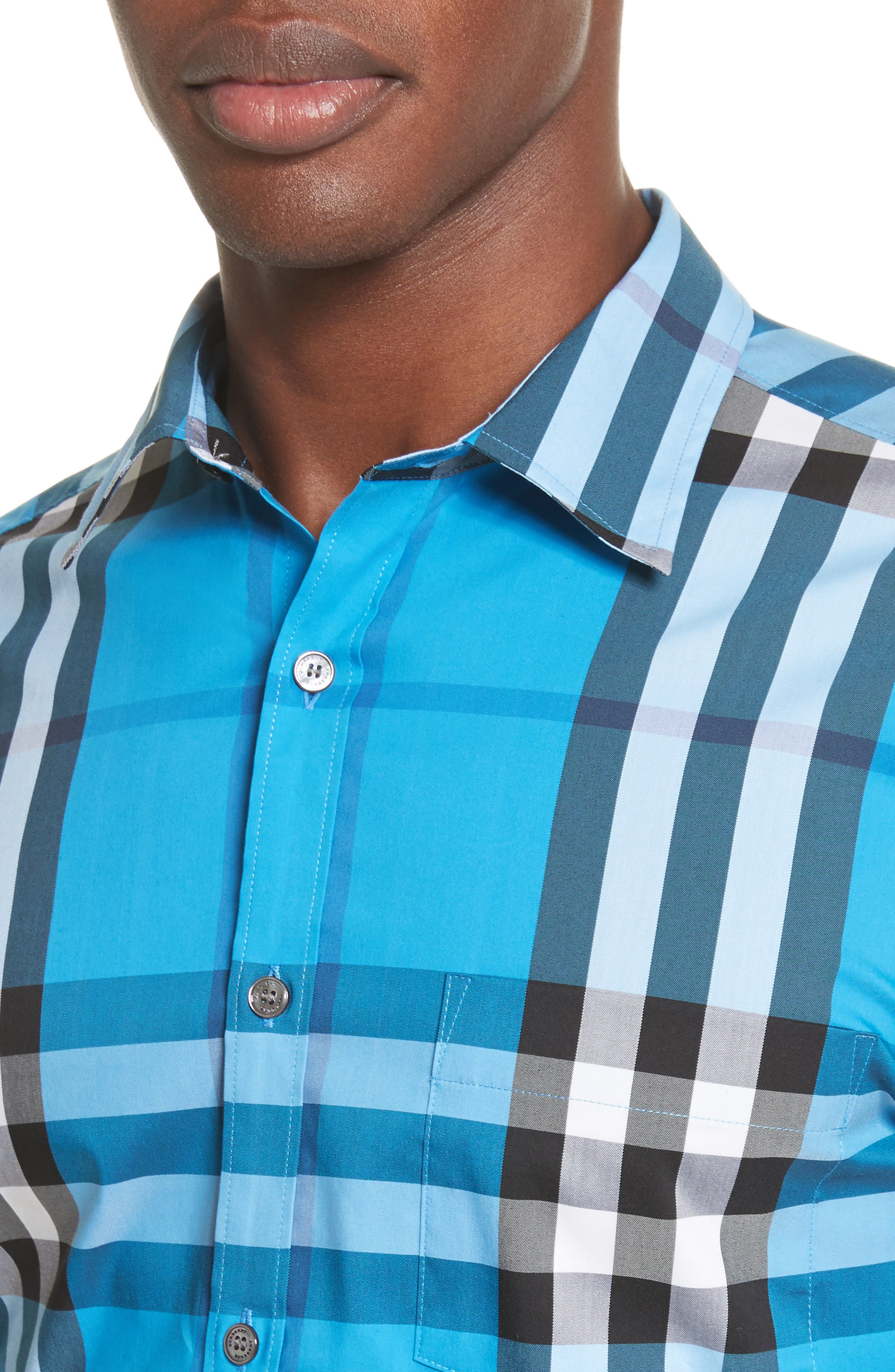 Nelson Check Sport Shirt,                             Alternate thumbnail 89, color,