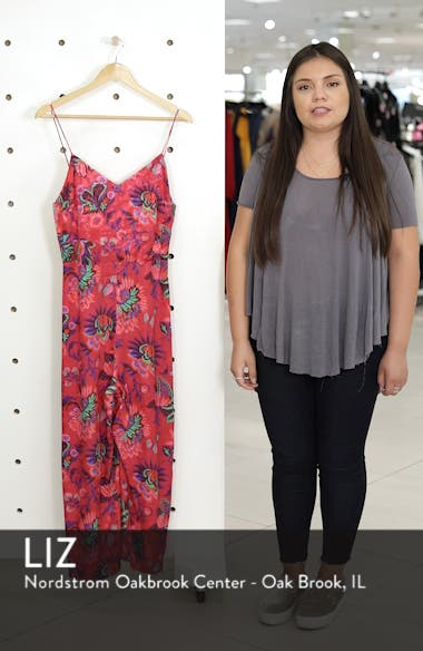 Sleeveless Floral Jumpsuit, sales video thumbnail