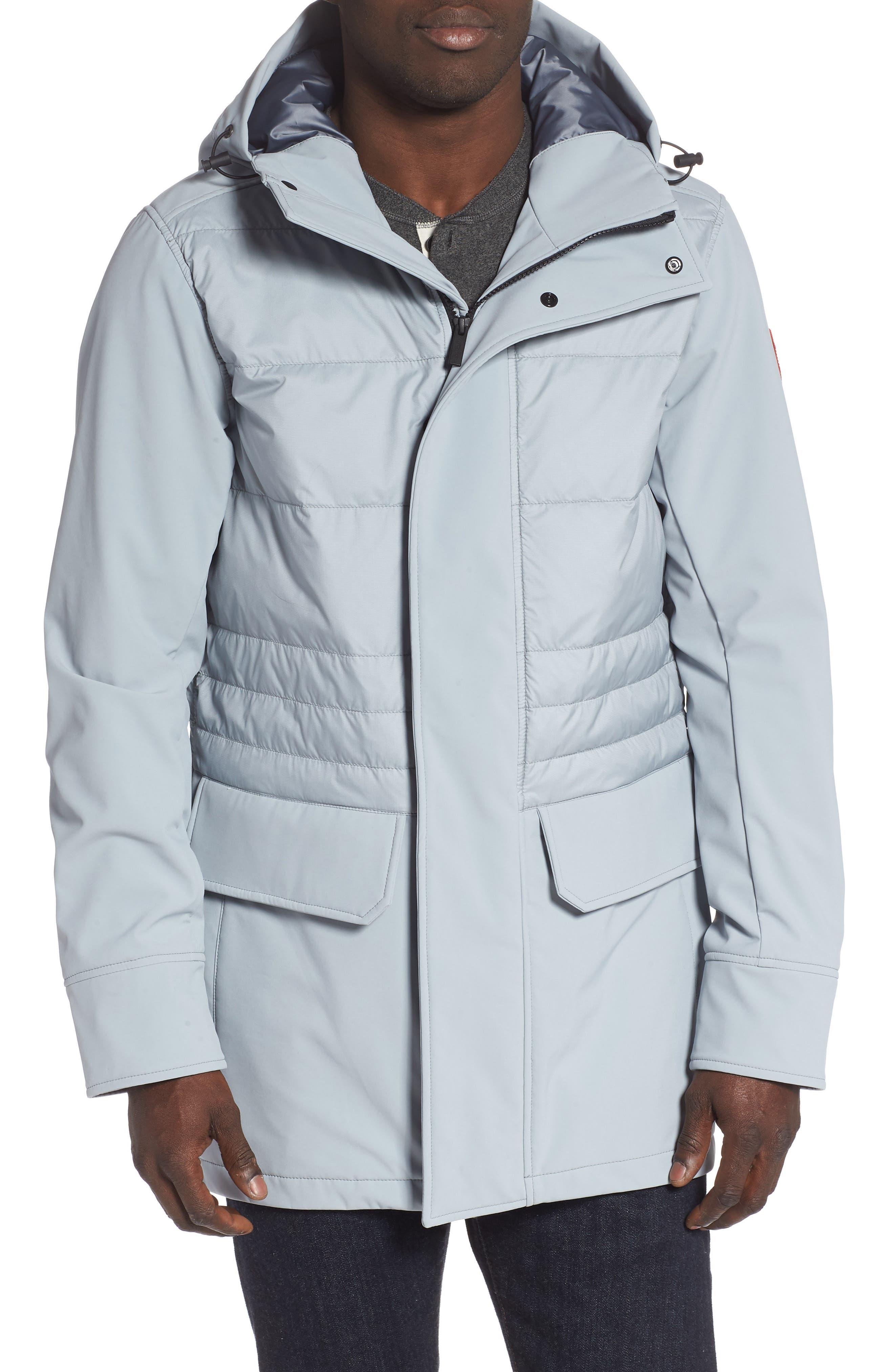 Canada Goose Breton 675-Fill Power Down Coat, Grey