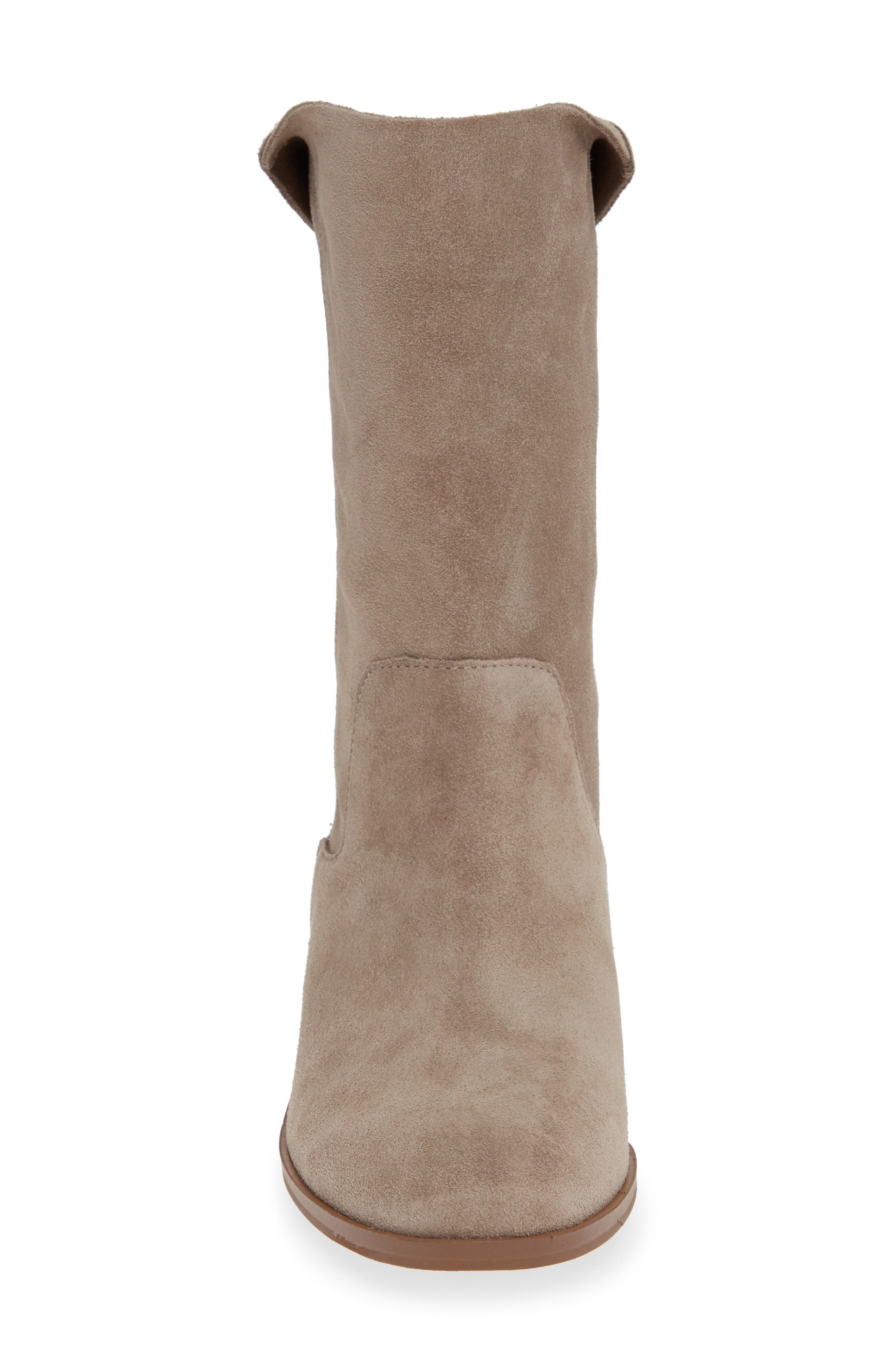 Calanth Bootie,                             Alternate thumbnail 4, color,                             MUSHROOM SUEDE