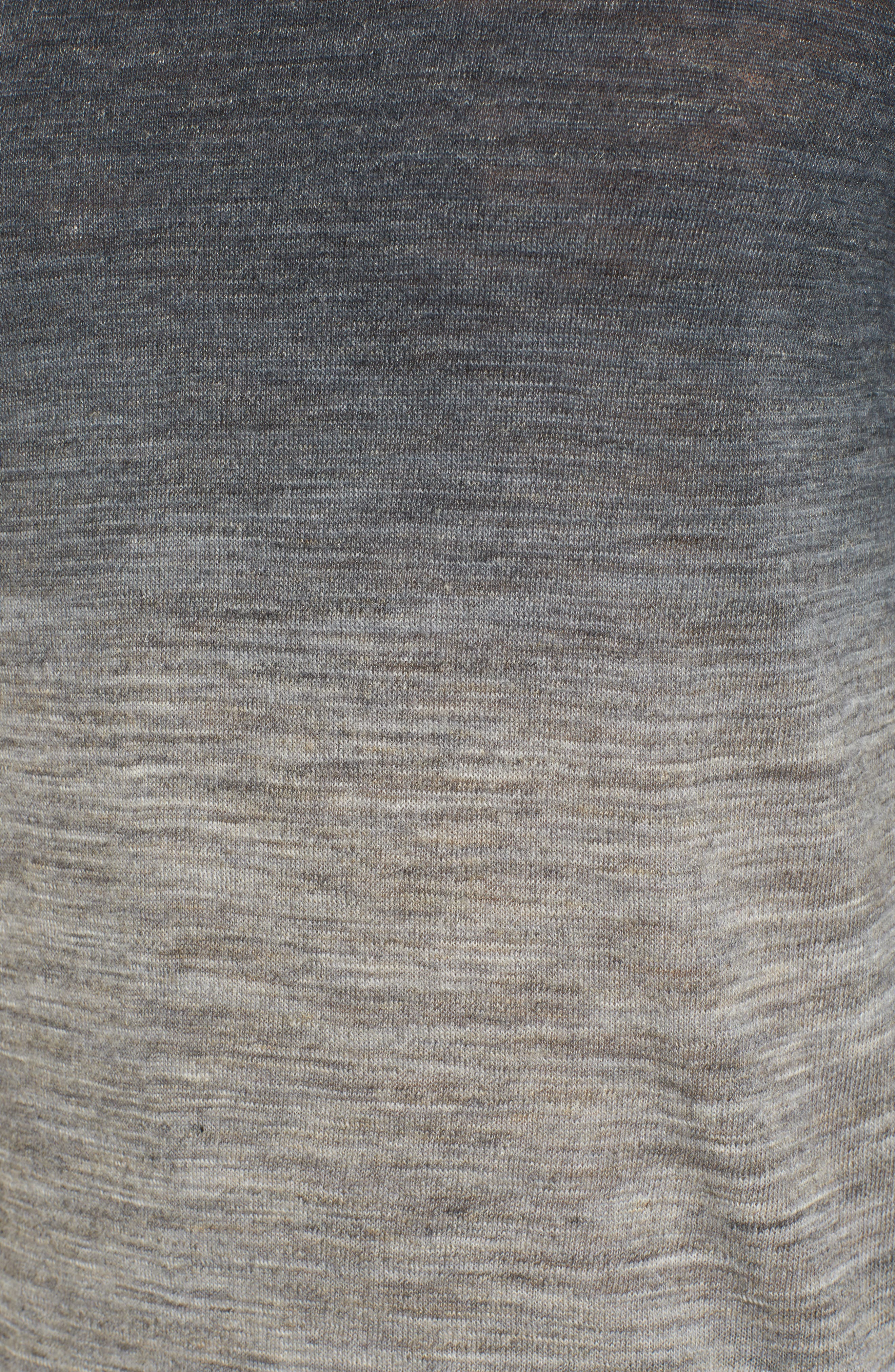 Regular Fit Dip Dye Turtleneck,                             Alternate thumbnail 5, color,                             020