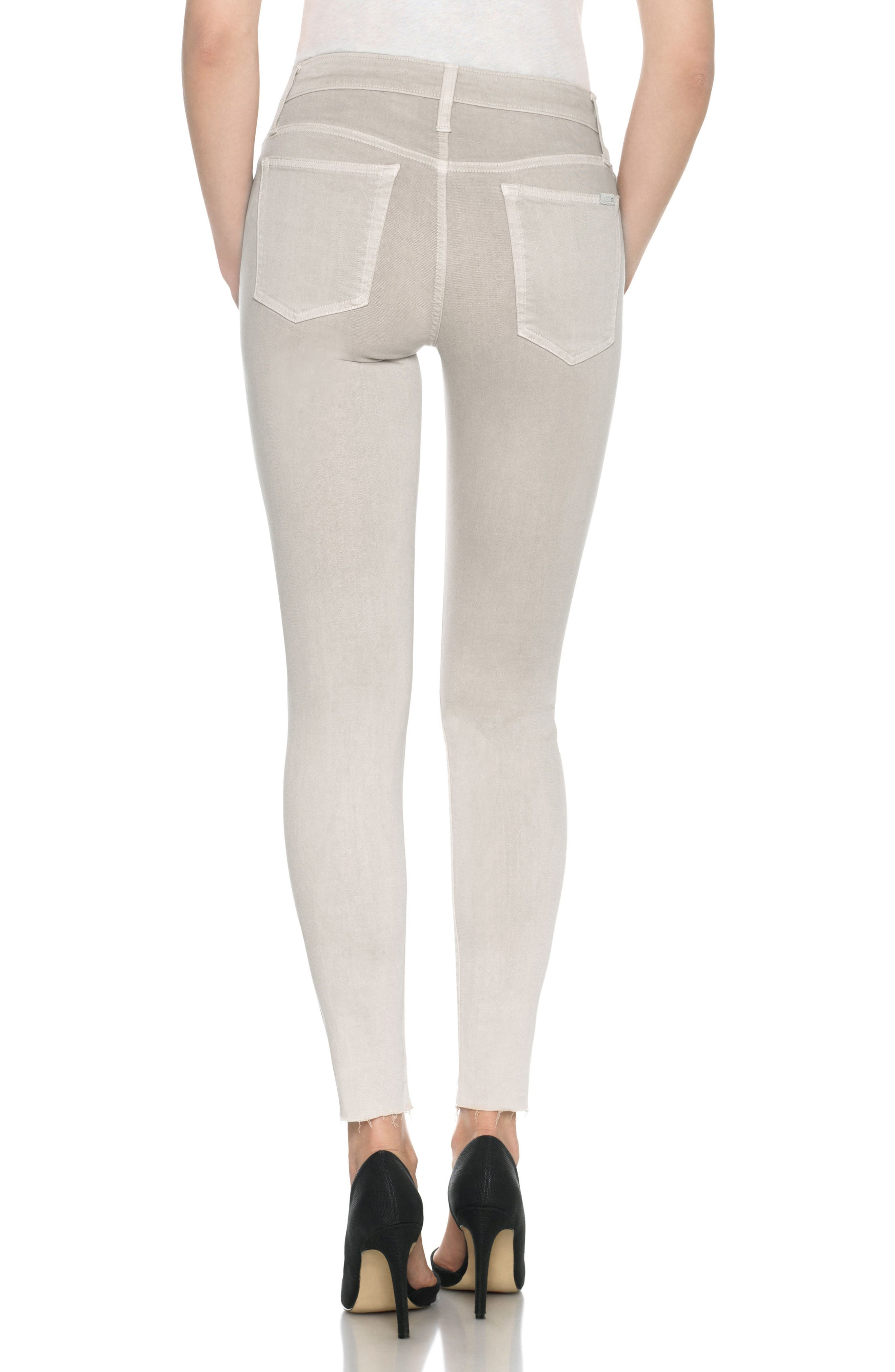 Charlie High Rise Ankle Skinny Jeans,                             Alternate thumbnail 13, color,
