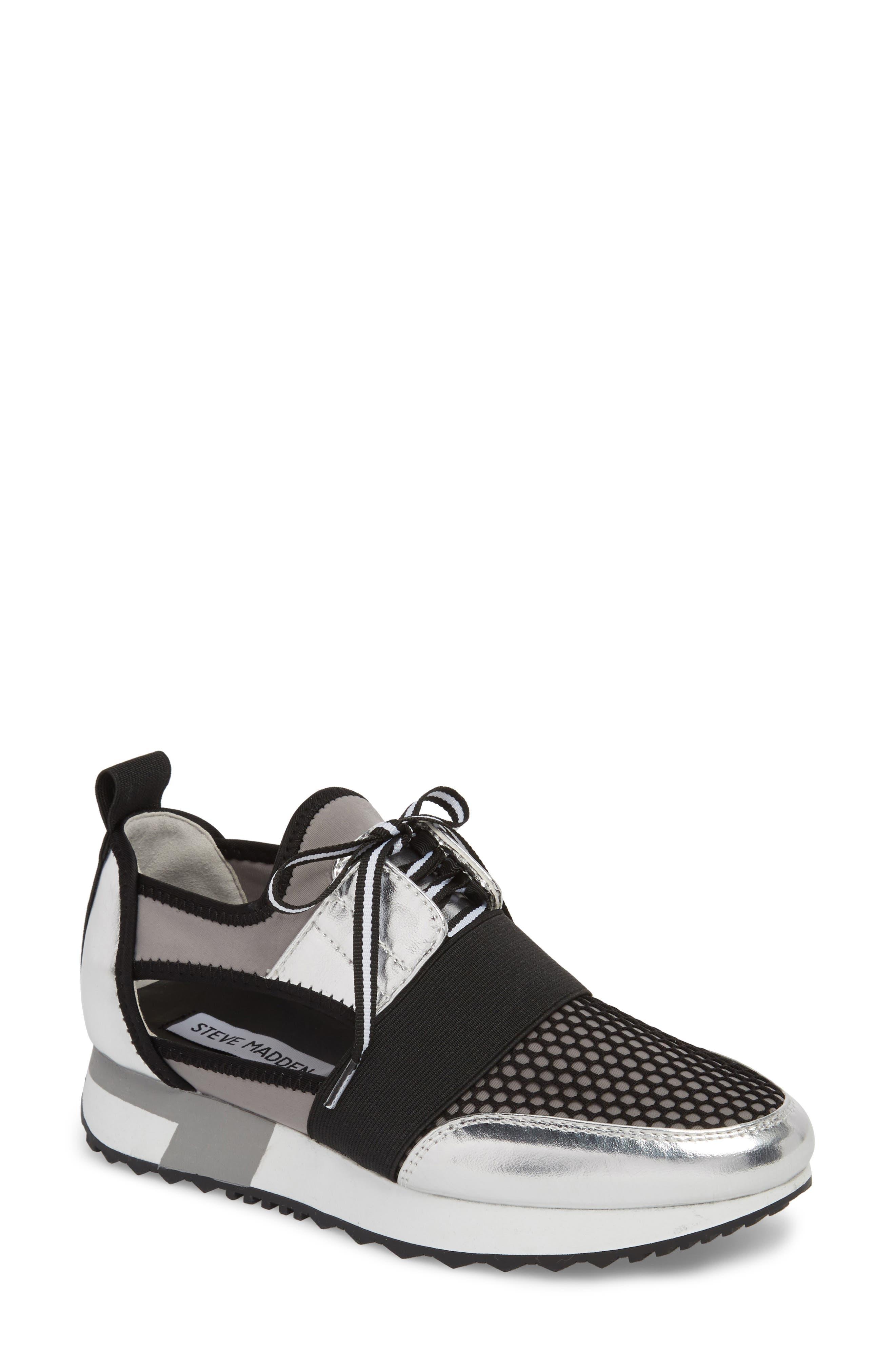 Arctic Sneaker,                             Main thumbnail 1, color,                             SILVER MULTI