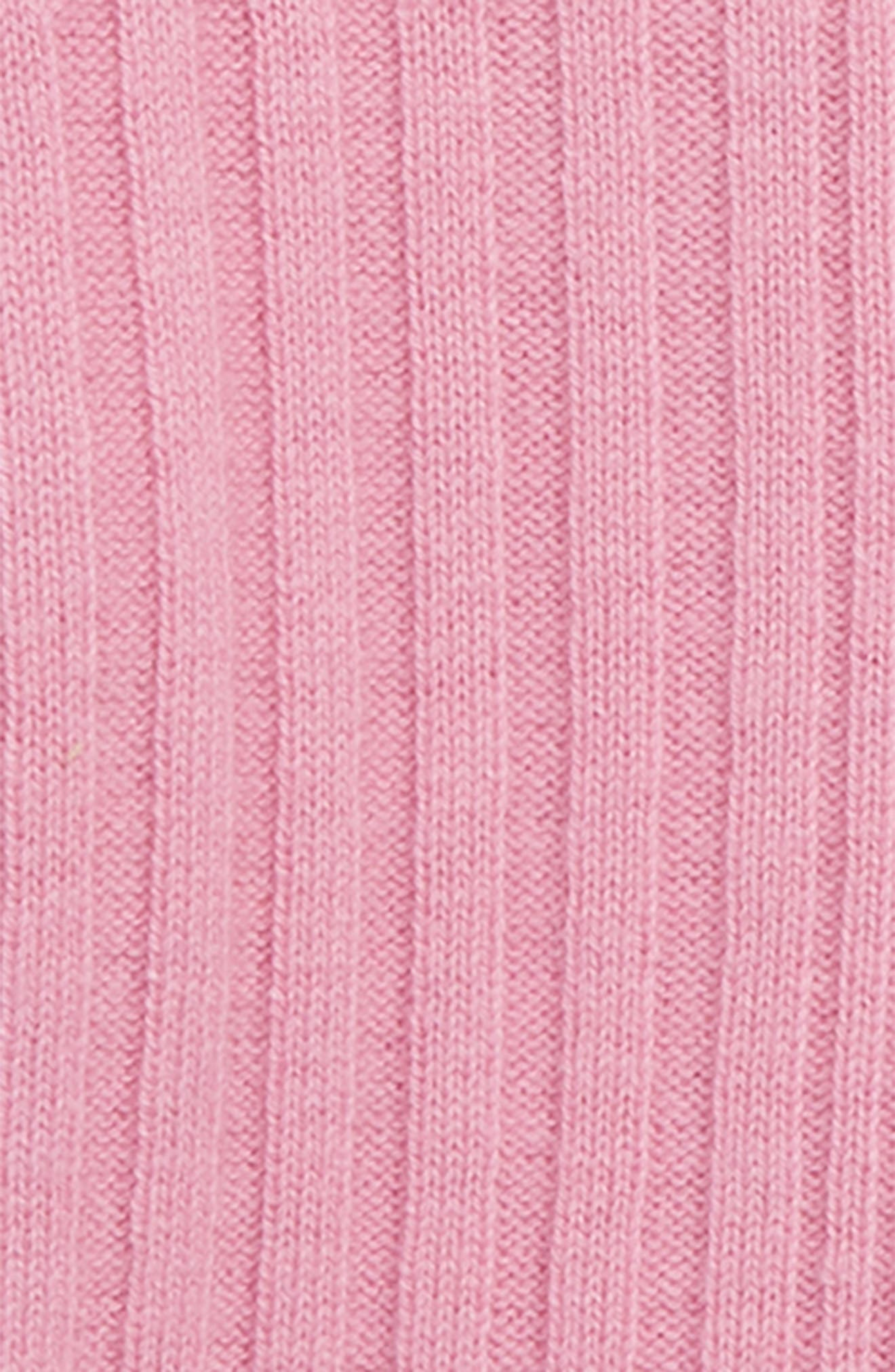 Cathie Mixed Stitch Pullover Sweater,                             Alternate thumbnail 2, color,                             ROSE PINK