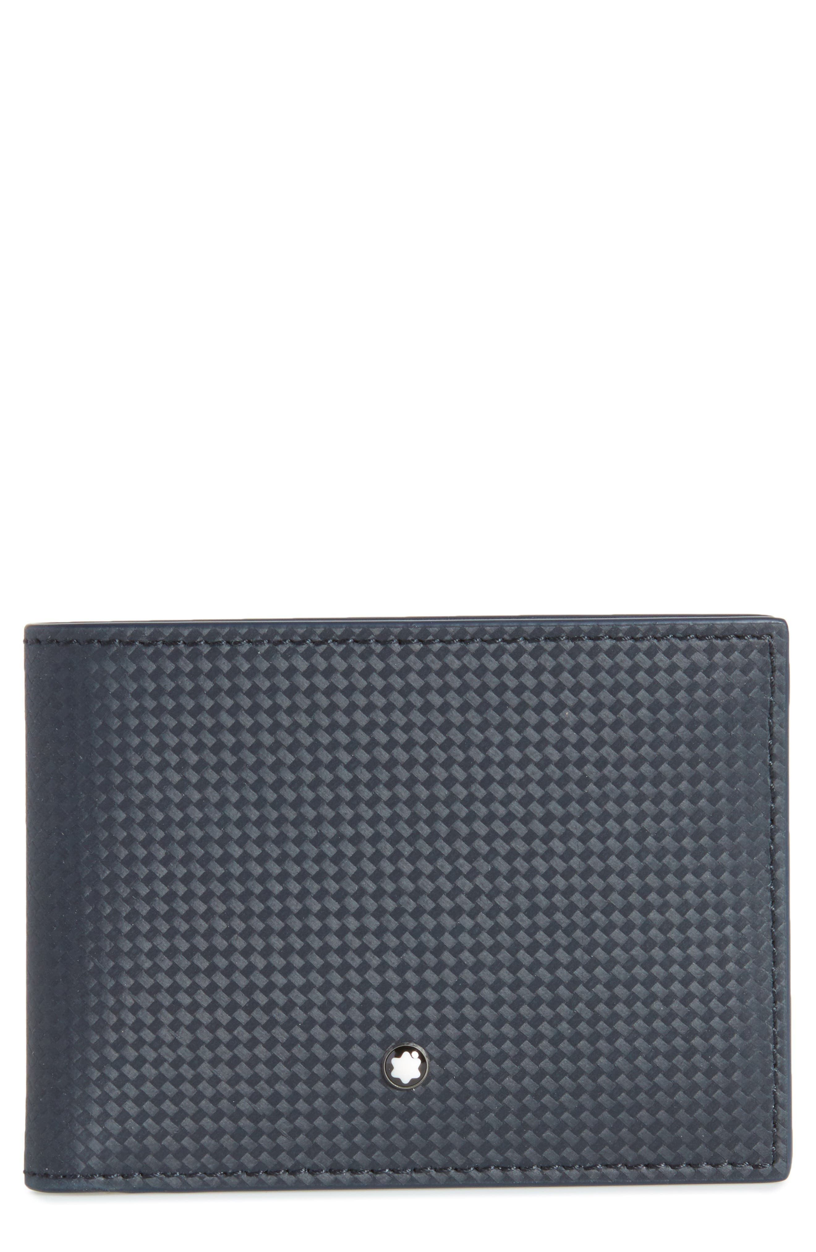 Extreme Bifold Leather Wallet,                             Main thumbnail 1, color,                             BLUE