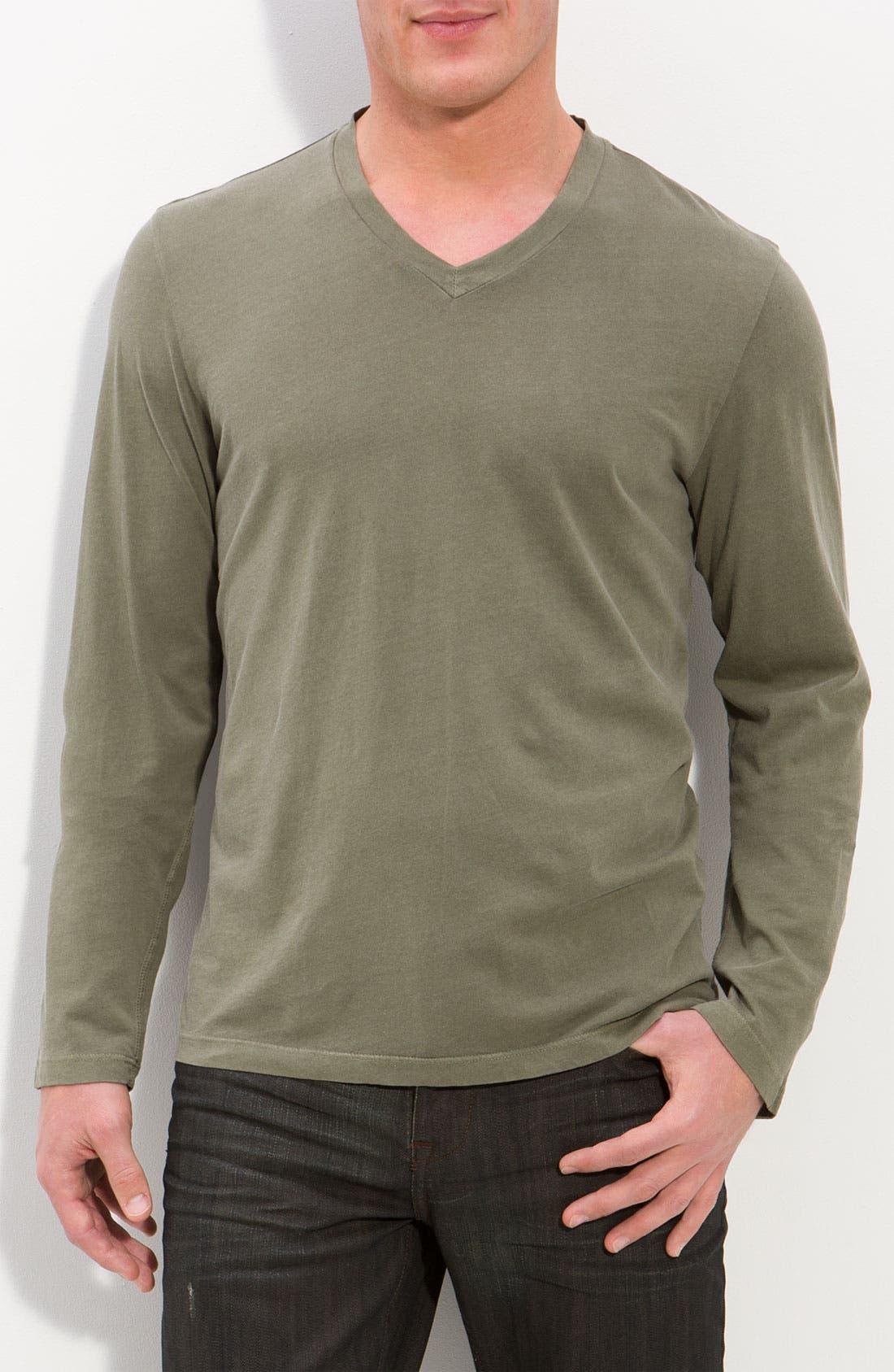 'Luma' V-Neck T-Shirt, Main, color, 301