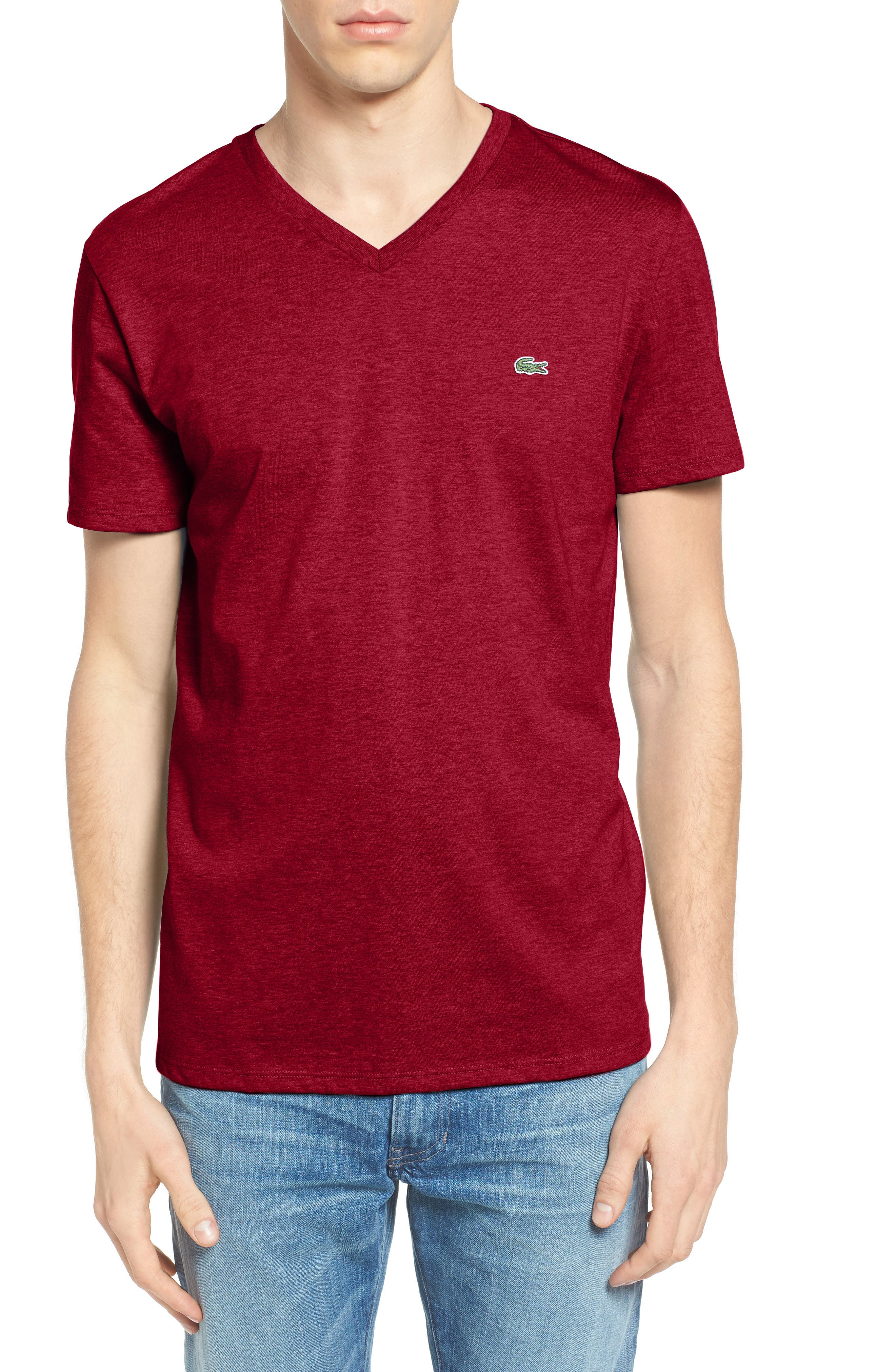 V-Neck T-Shirt,                             Main thumbnail 9, color,