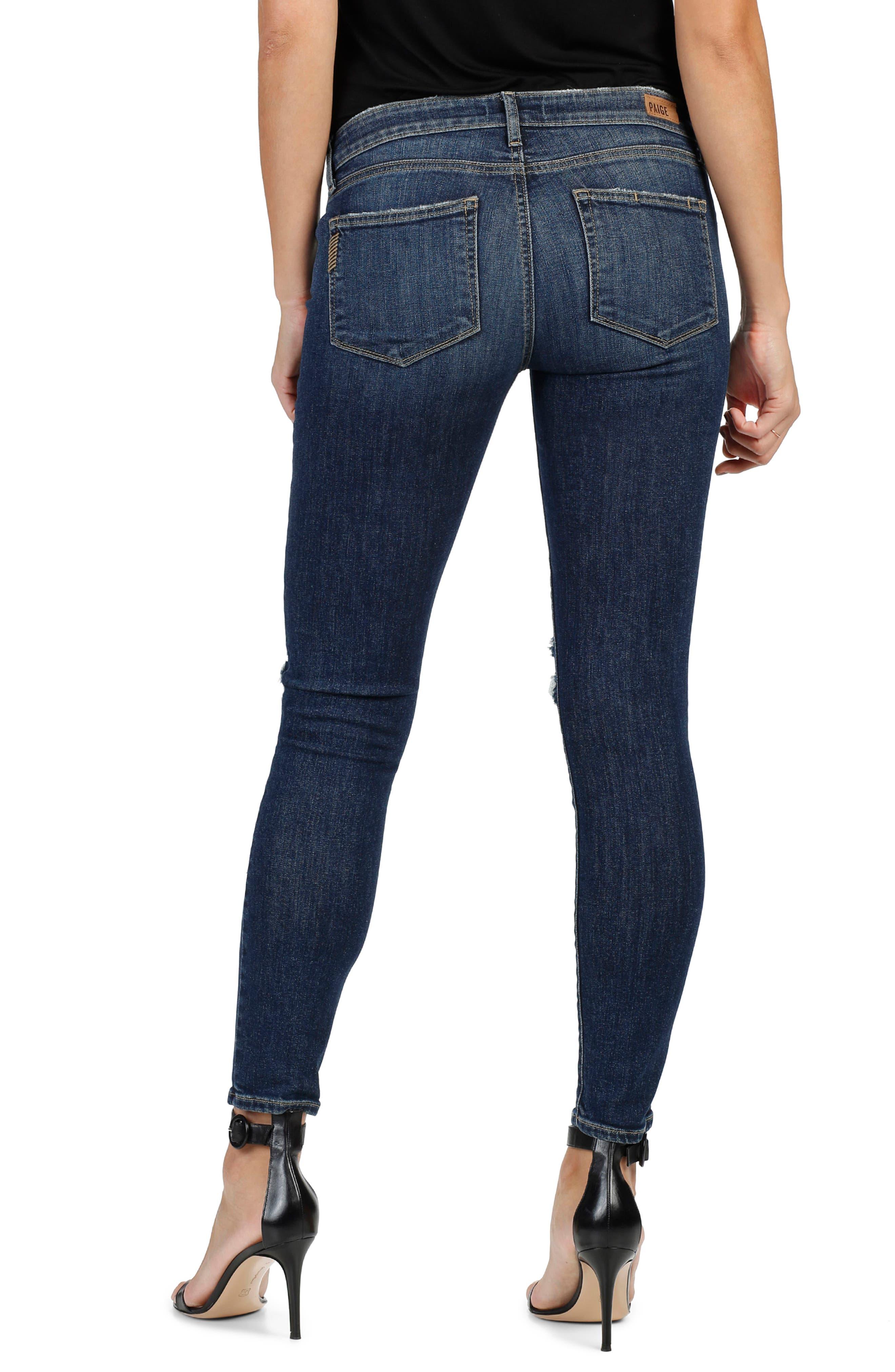 Verdugo Ultra Skinny Jeans,                             Alternate thumbnail 3, color,                             400