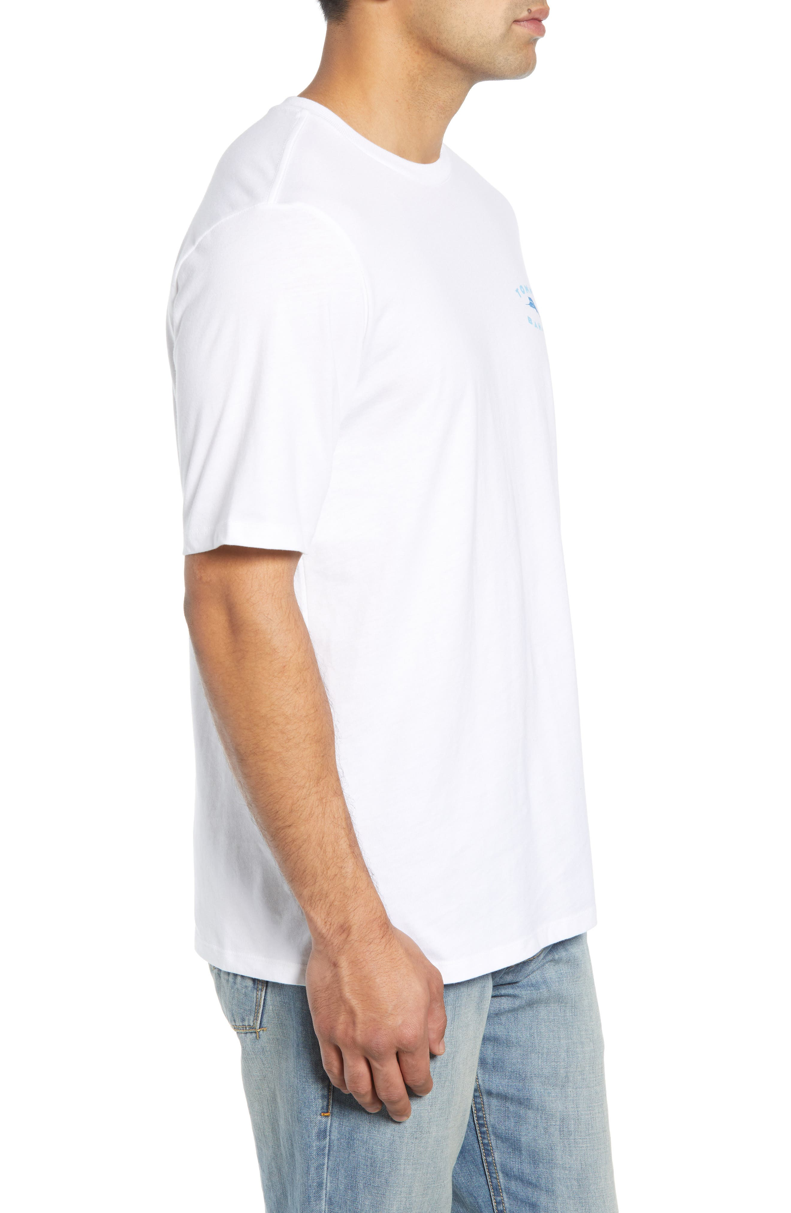 TOMMY BAHAMA,                             Complete Transparency T-Shirt,                             Alternate thumbnail 3, color,                             100