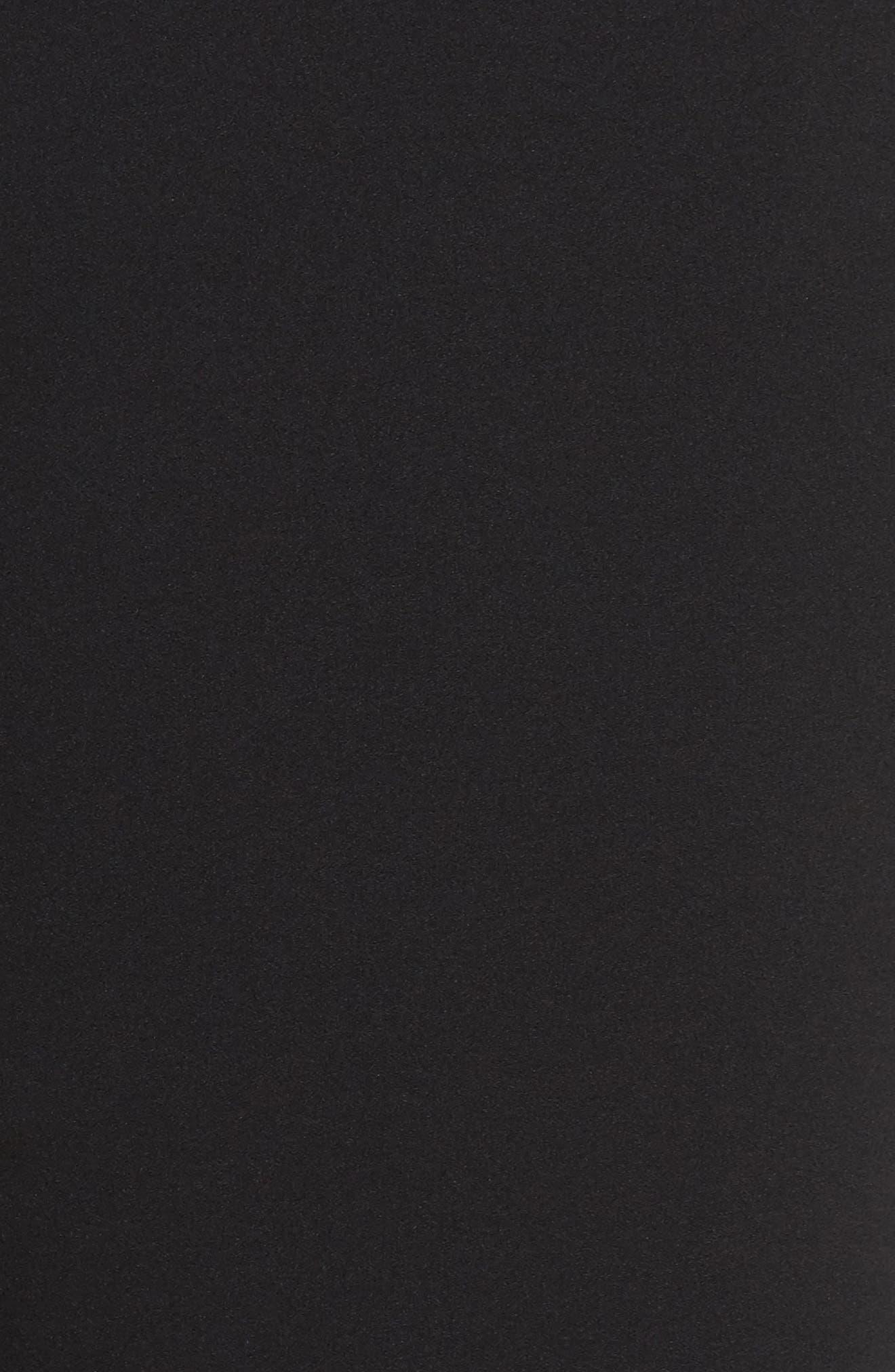 Slim Leg Pants,                             Alternate thumbnail 5, color,                             BLACK