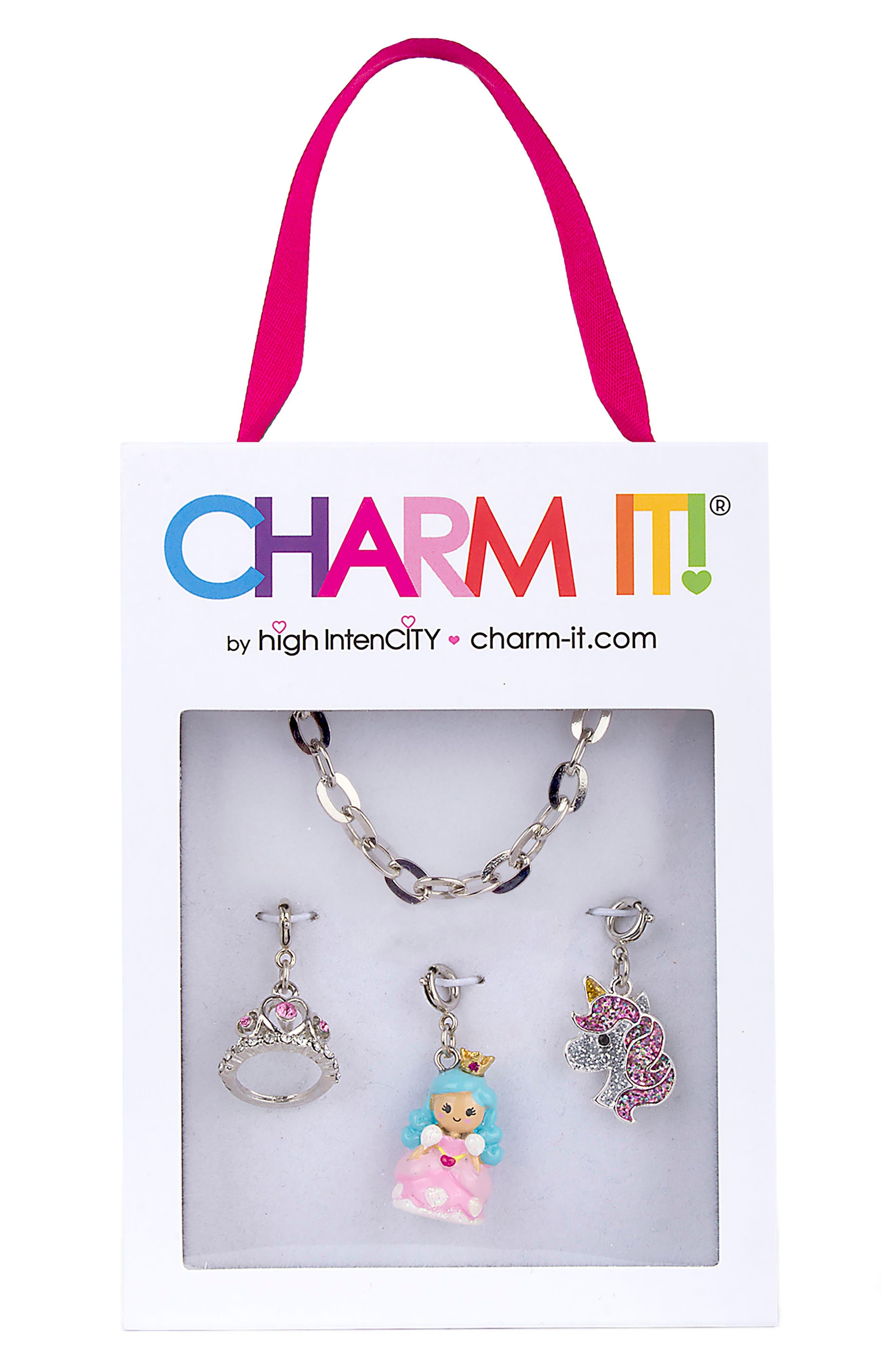 CHARM IT!<sup>®</sup> Princess Charm Bracelet Gift Set,                             Alternate thumbnail 2, color,                             MULTI