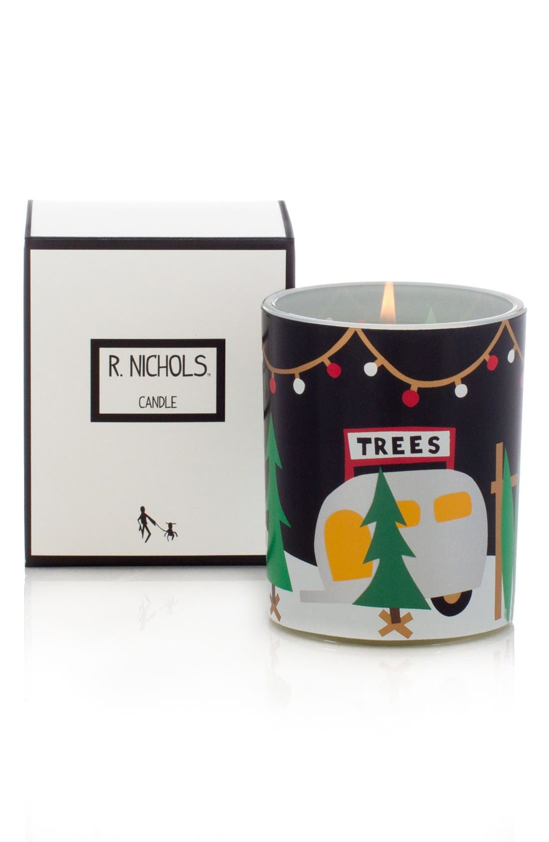 'Sparkle' Scented Candle,                             Alternate thumbnail 2, color,                             000