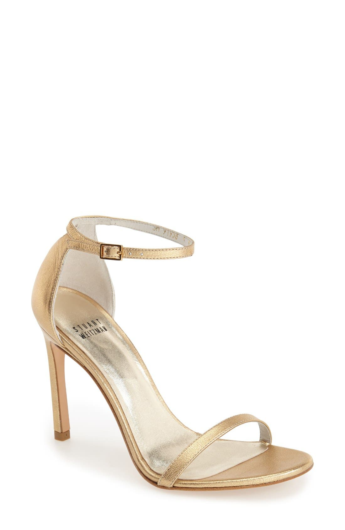Nudistsong Ankle Strap Sandal,                             Main thumbnail 41, color,