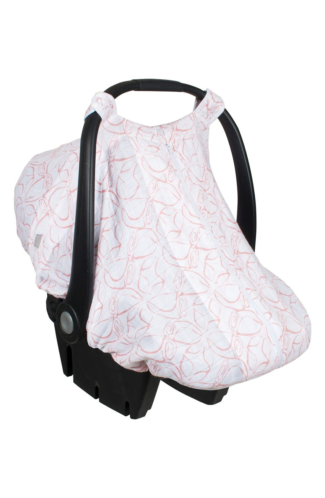 Muslin Car Seat Cover,                             Main thumbnail 1, color,                             101
