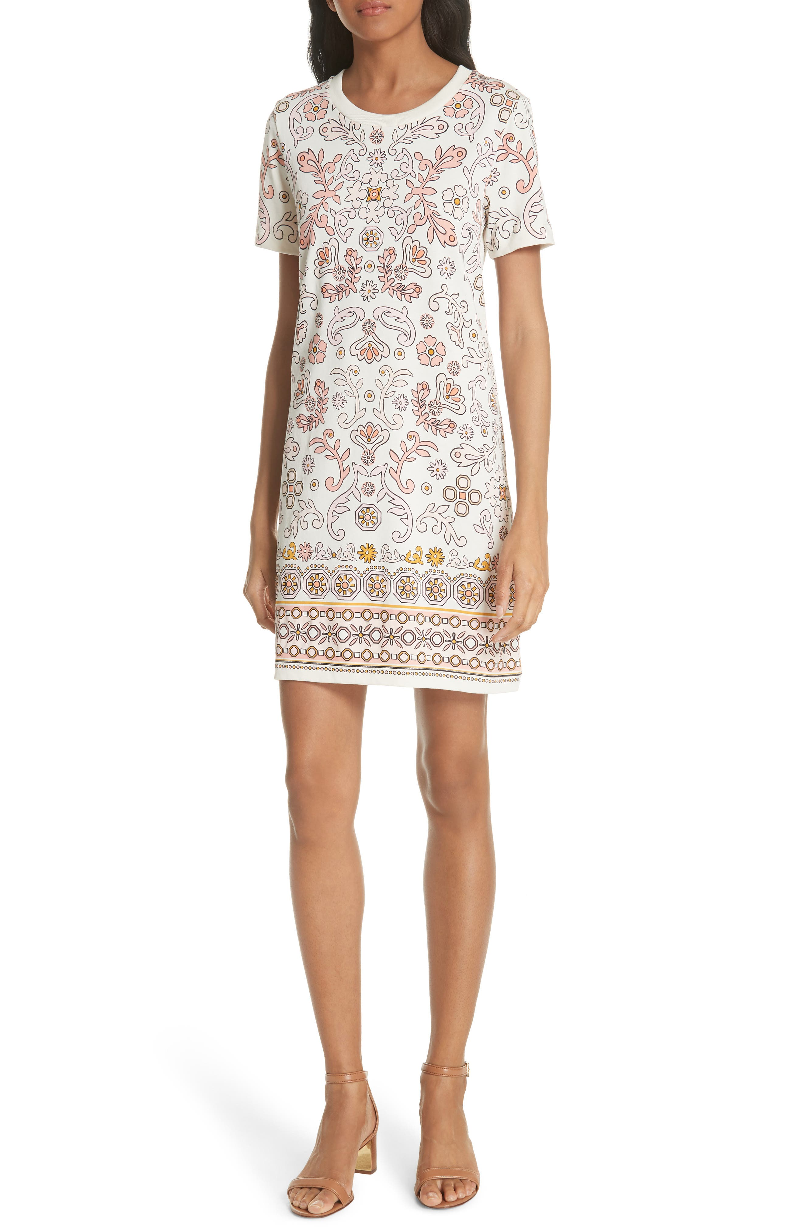 Avril Pima Cotton Dress,                             Main thumbnail 1, color,                             198