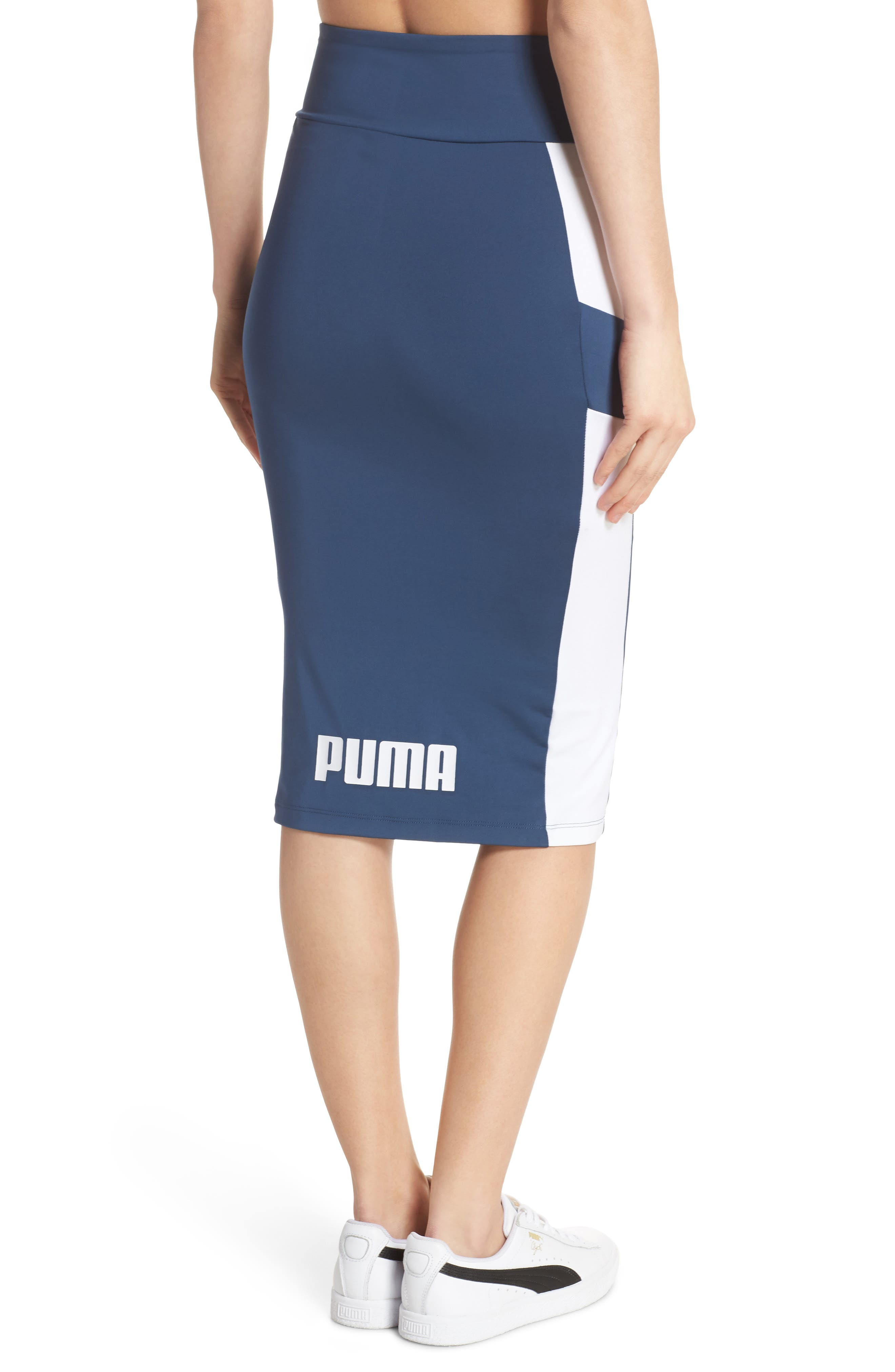 Archive Logo Pencil Skirt,                             Alternate thumbnail 2, color,                             403