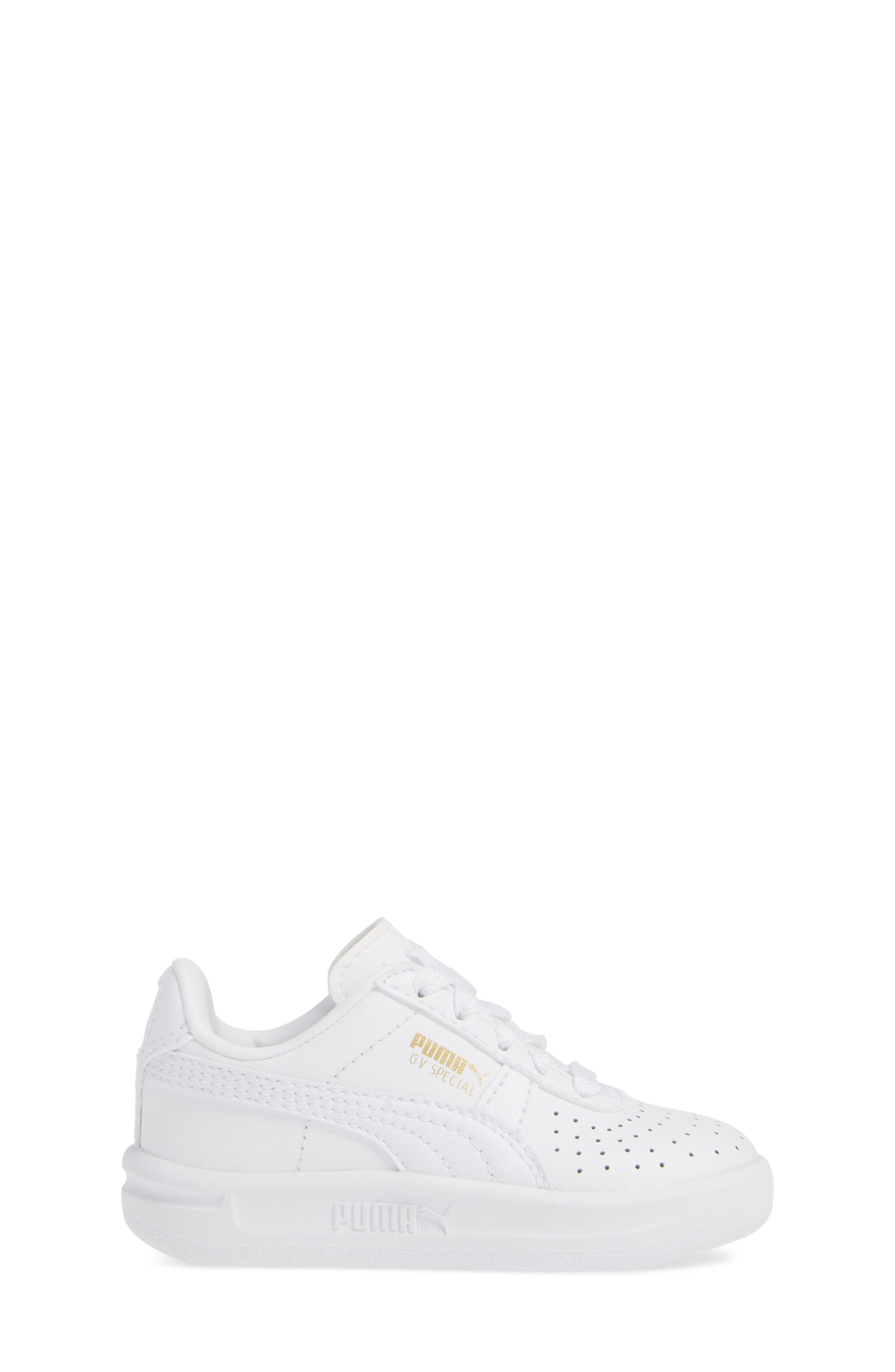 GV Special Sneaker,                             Alternate thumbnail 3, color,                             PUMA WHITE-PUMA TEAM GOLD