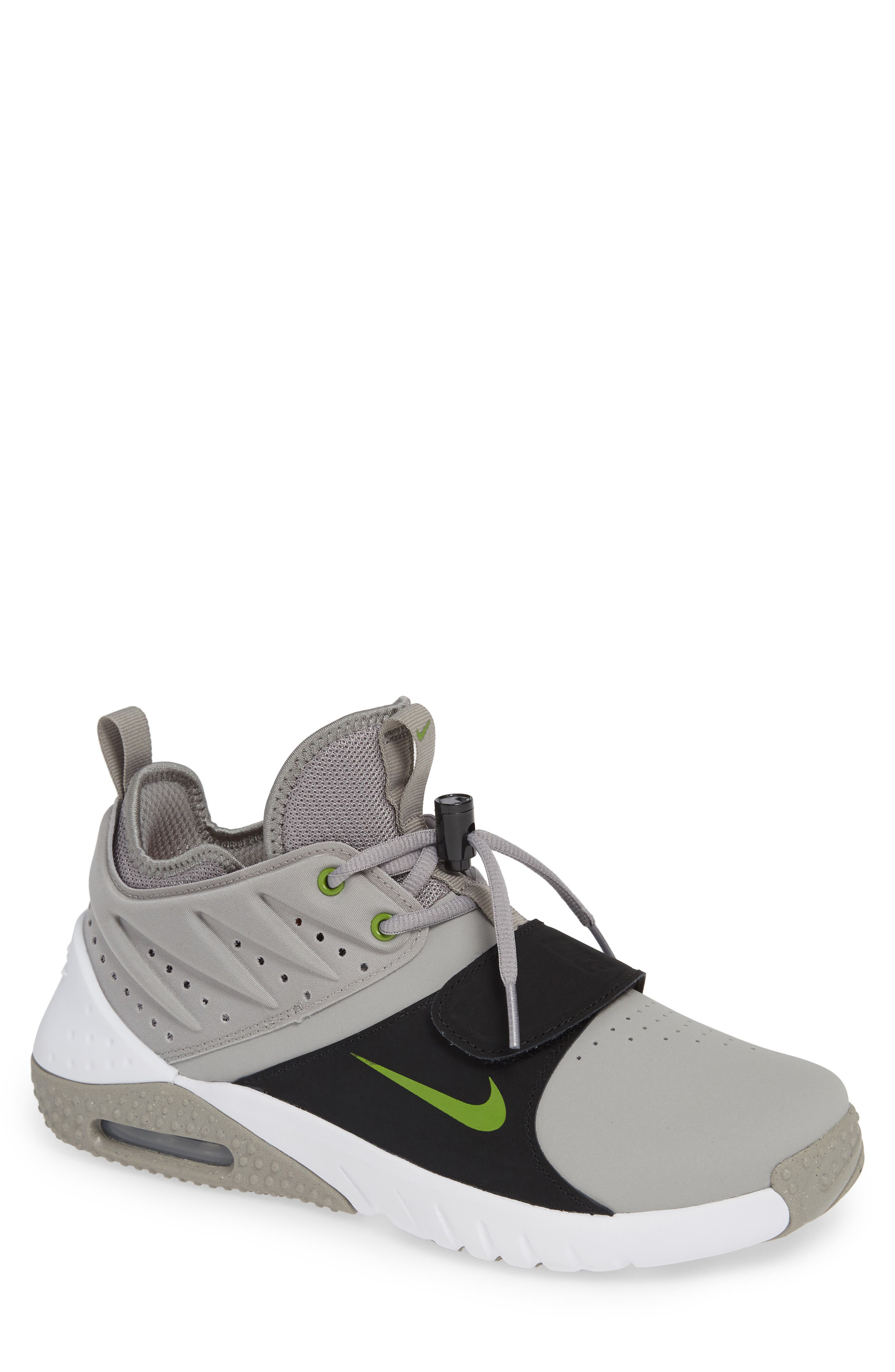 Air Max Trainer 1 Training Shoe,                             Main thumbnail 1, color,                             MEDIUM GREY/ WHITE/ BLACK