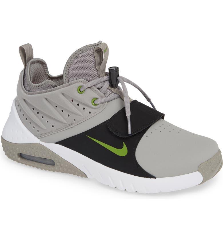 Air Max Trainer 1 Training Shoe in Medium Grey White Black