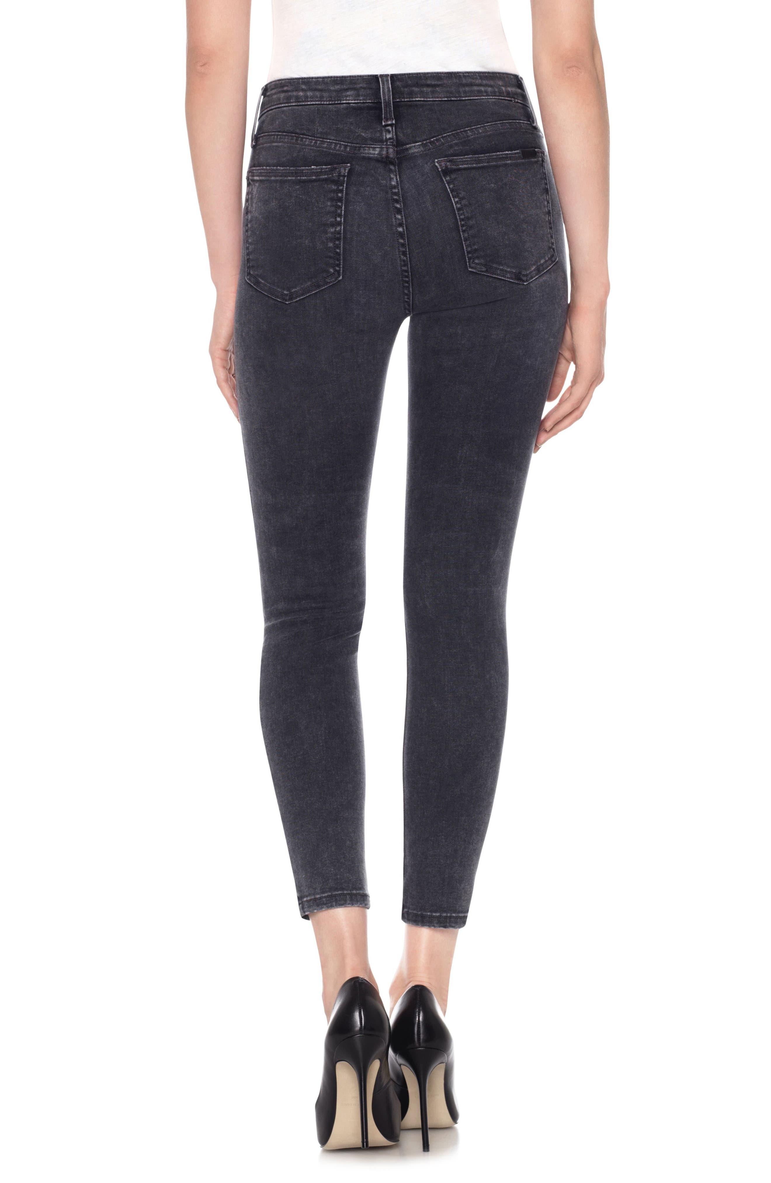 Charlie High Waist Ankle Skinny Jeans,                             Alternate thumbnail 2, color,