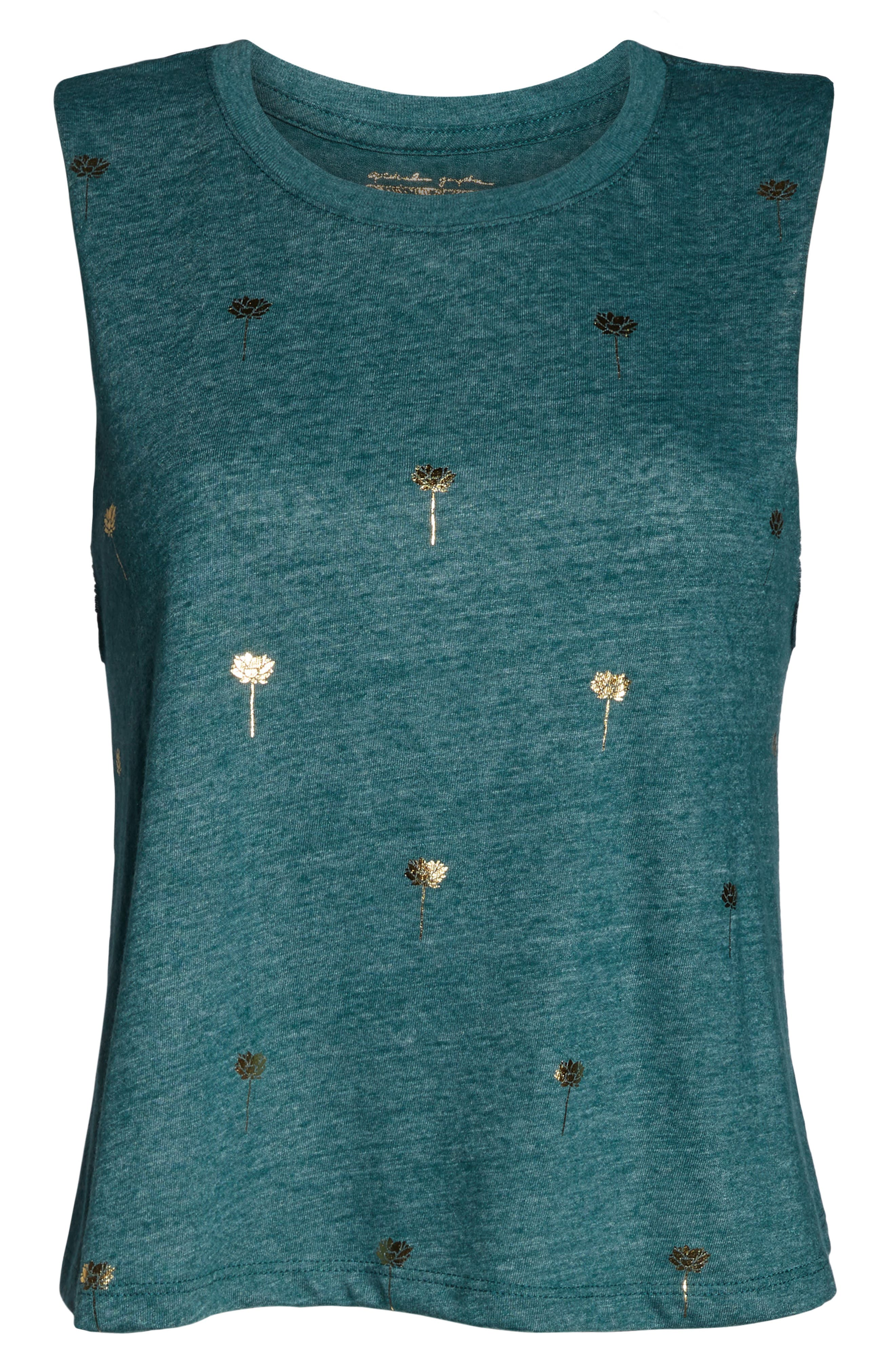 Mini Lotus Crop Tank,                             Alternate thumbnail 7, color,                             300