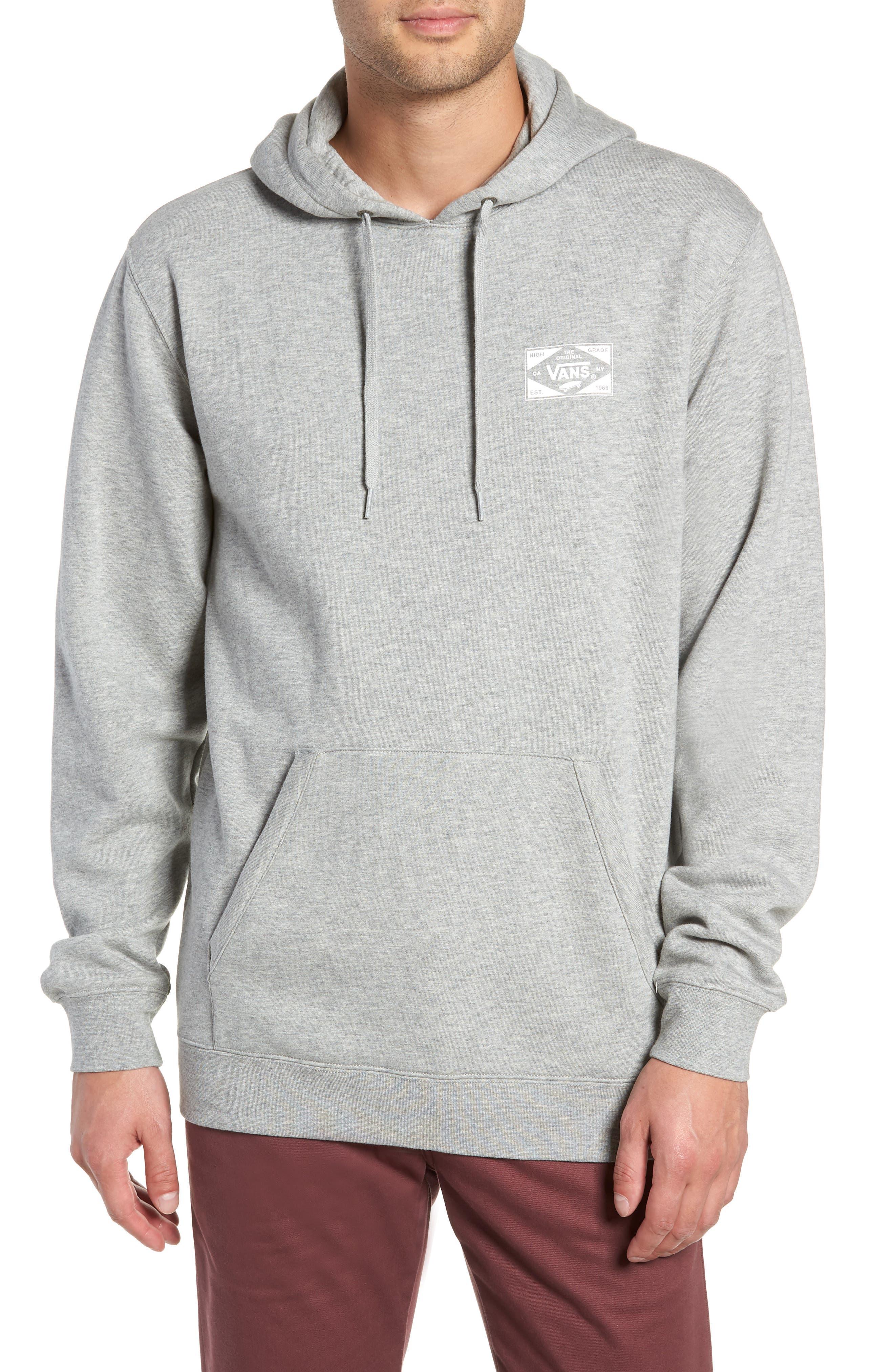 Vans Best In Class Hooded Sweatshirt, Grey
