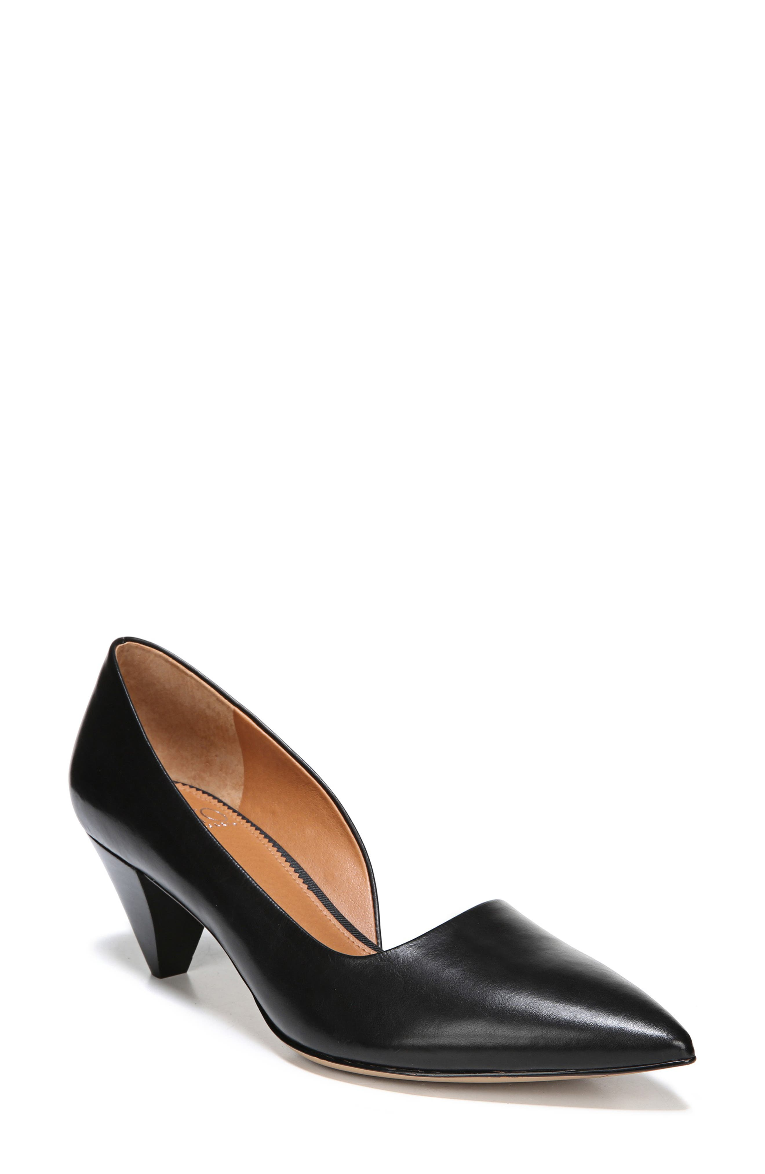 Candid Pump,                             Main thumbnail 1, color,                             BLACK LEATHER