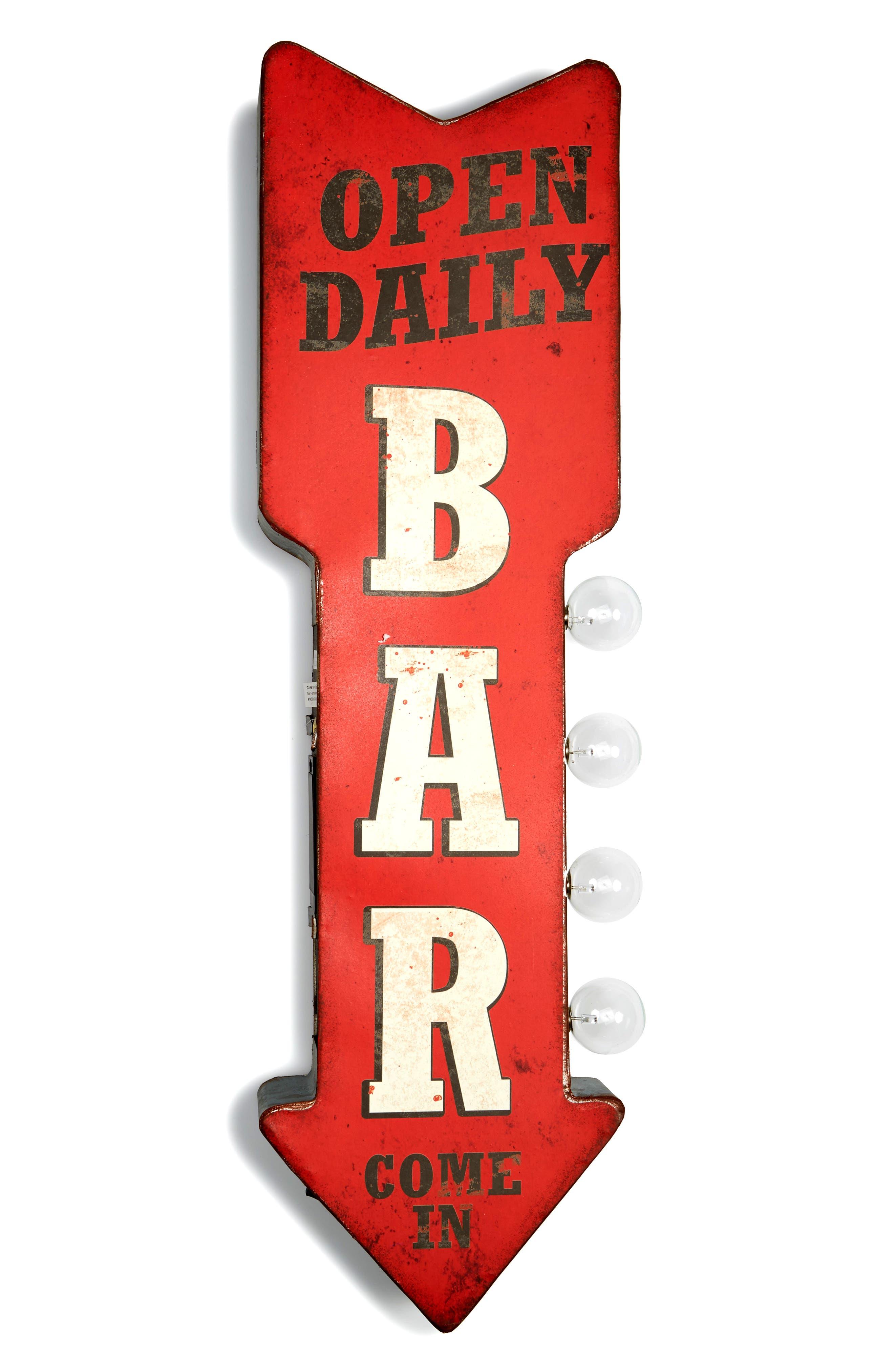 Bar LED Sign,                             Main thumbnail 1, color,                             600