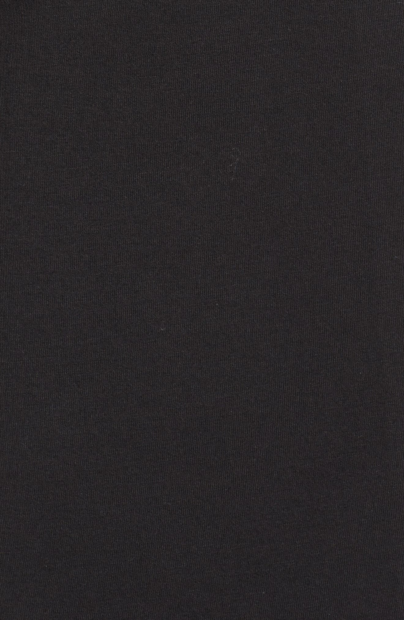 NORDSTROM LINGERIE,                             Moonlight Pajamas,                             Alternate thumbnail 5, color,                             BLACK