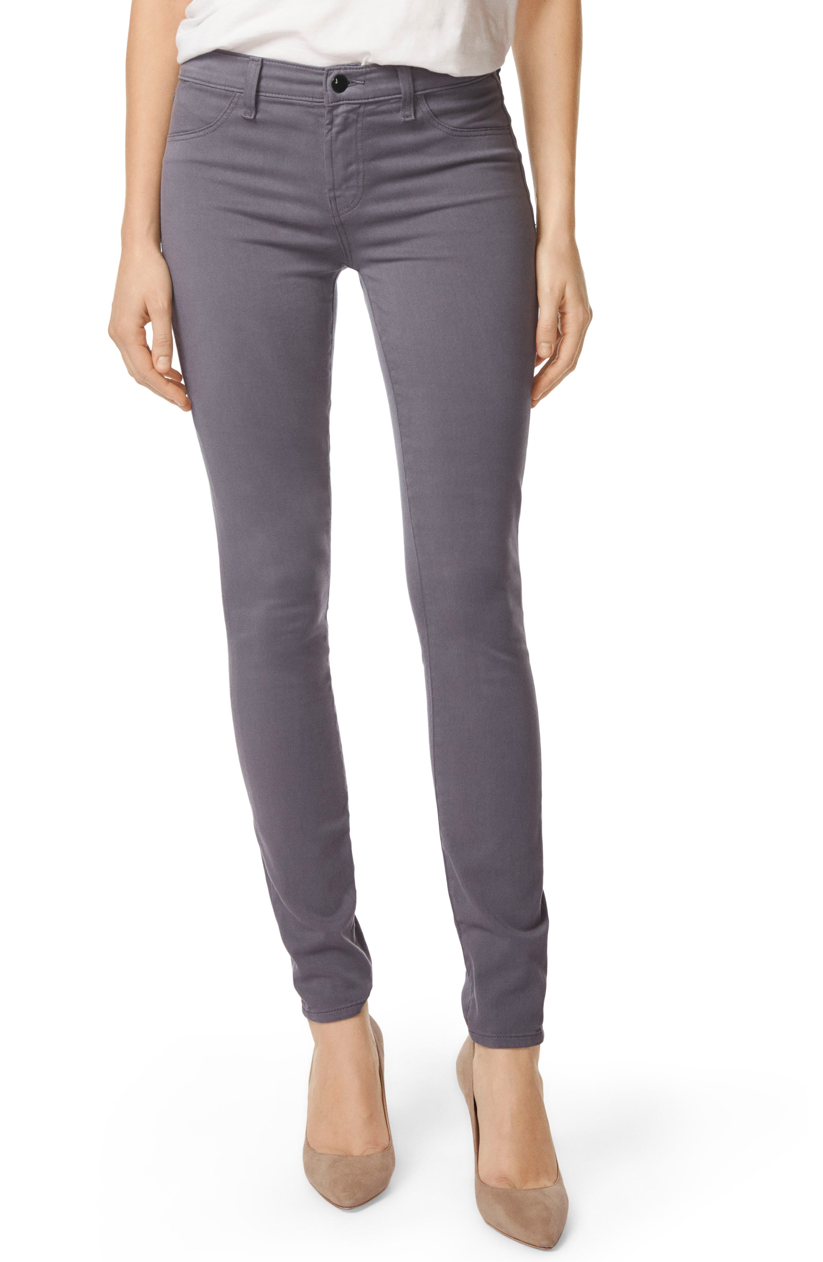 485 Mid Rise Skinny Jeans,                             Main thumbnail 1, color,                             VOLCANIC ASH