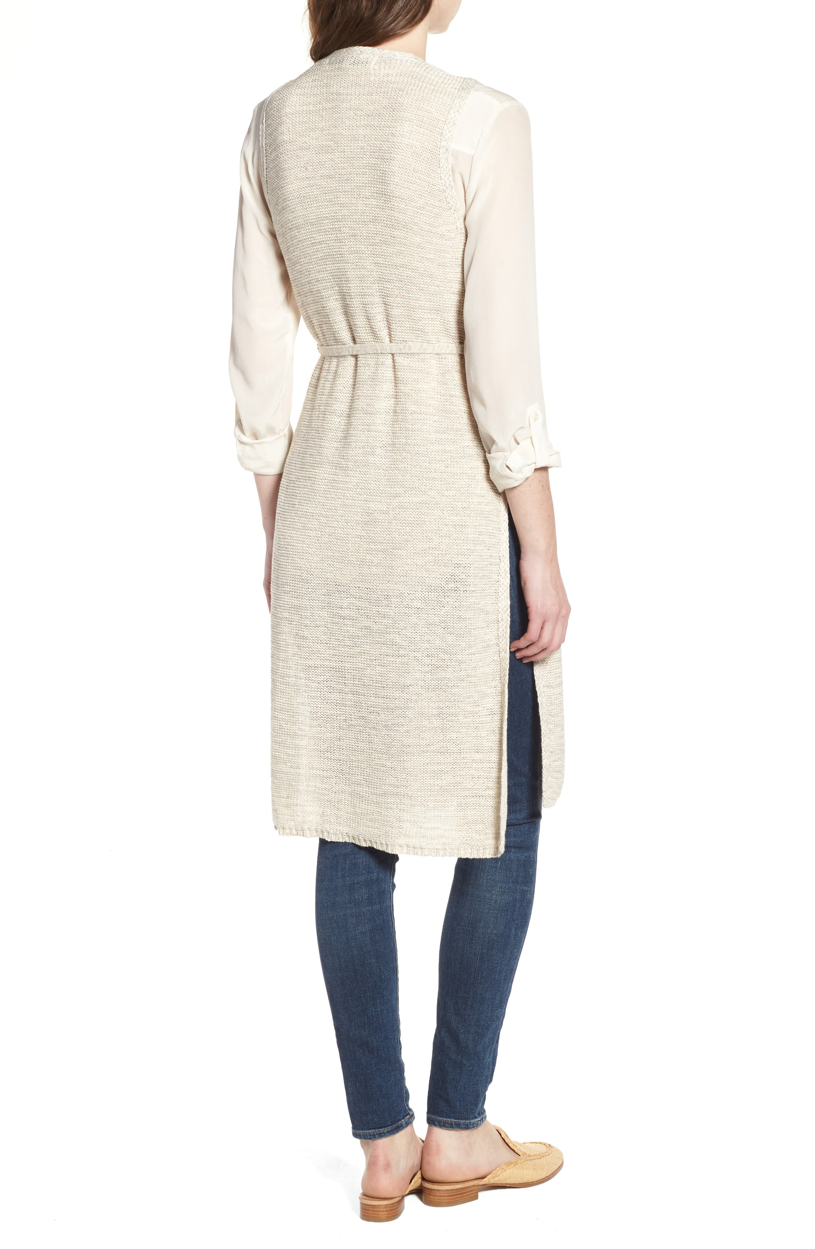 Achava Sweater Vest,                             Alternate thumbnail 2, color,                             NATURAL