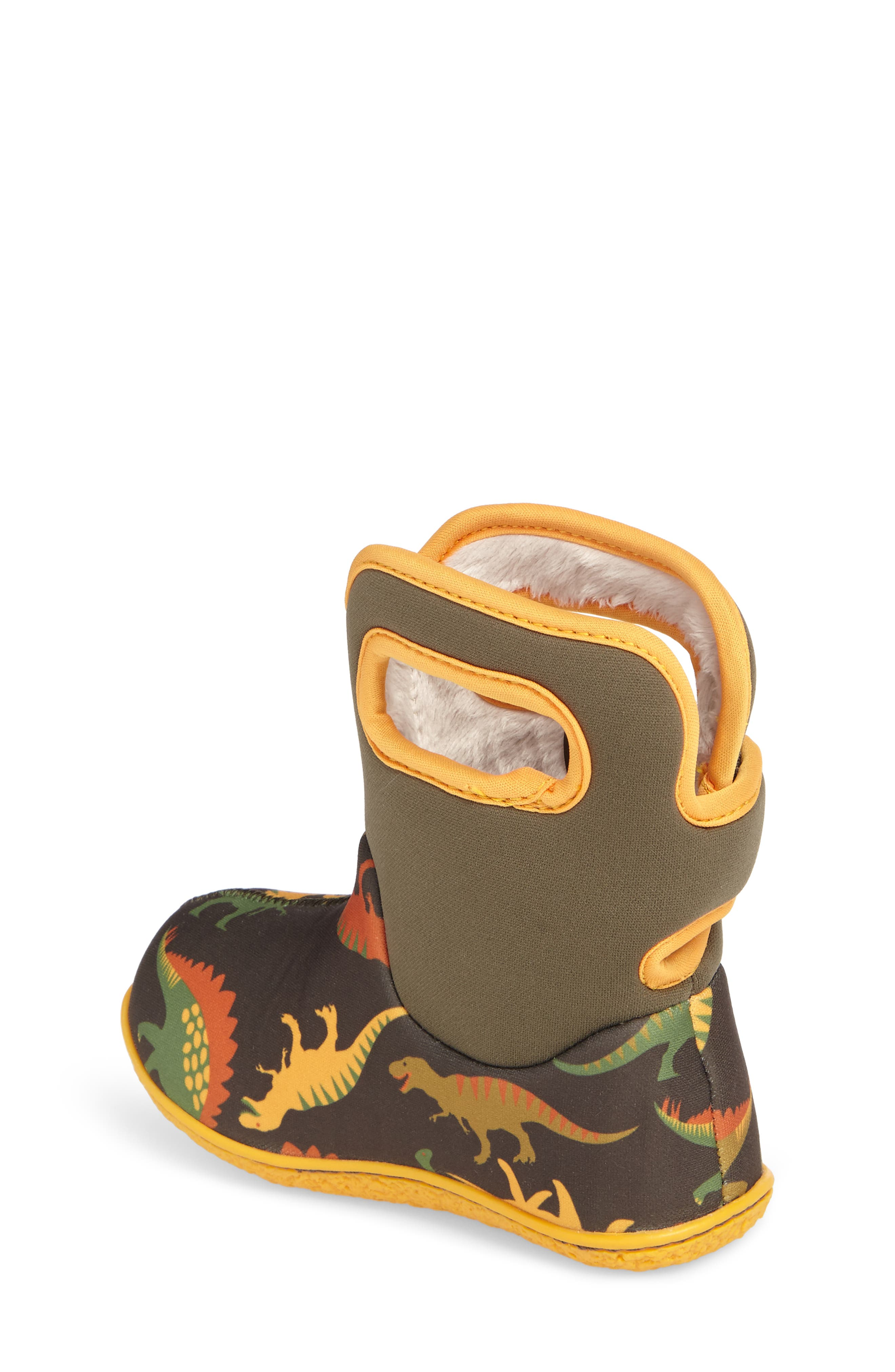 Baby Bog Classic Dino Insulated Waterproof Boot,                             Alternate thumbnail 2, color,                             356