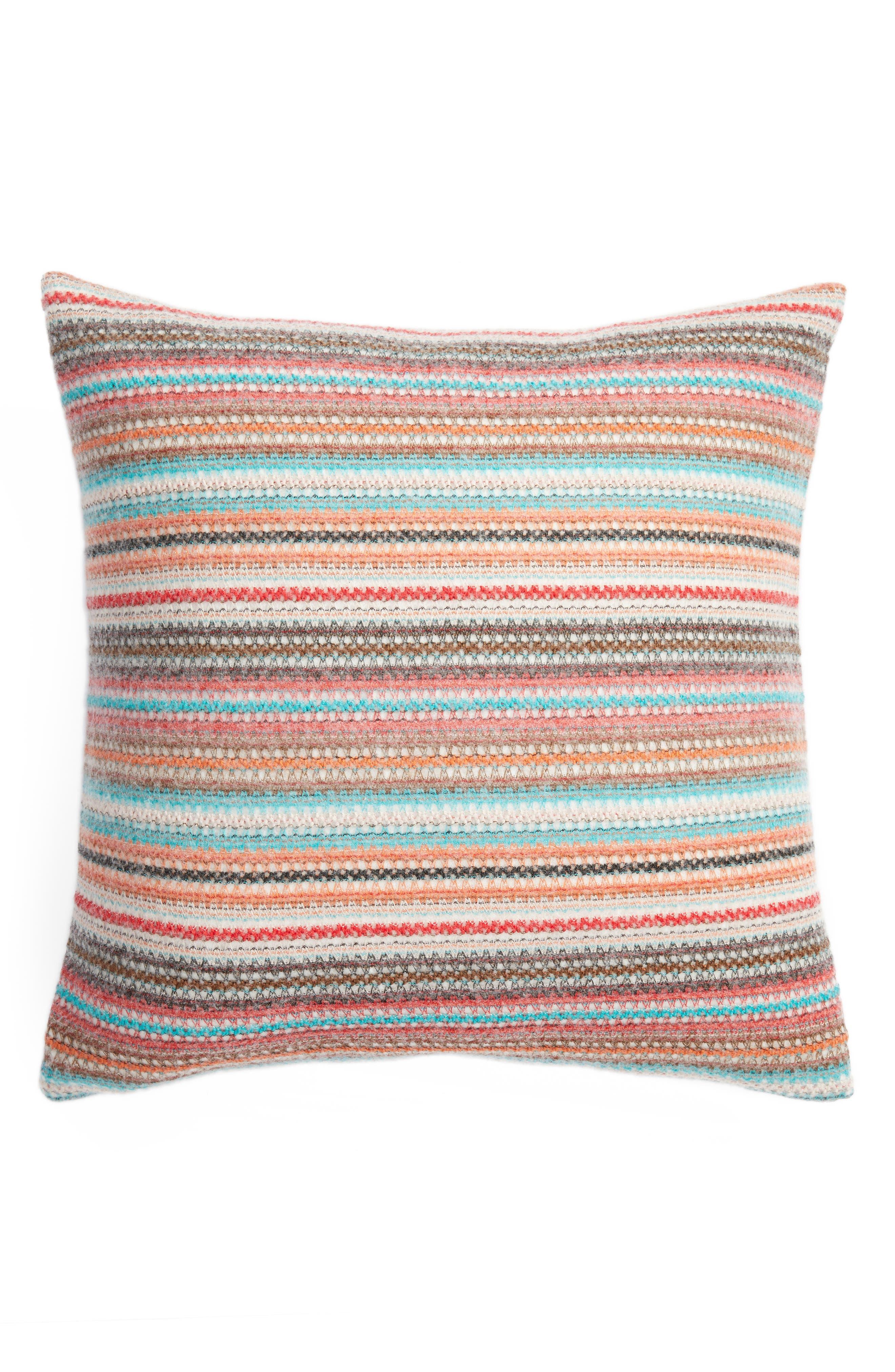 Aubrie Stripe Pillow,                             Main thumbnail 1, color,                             020