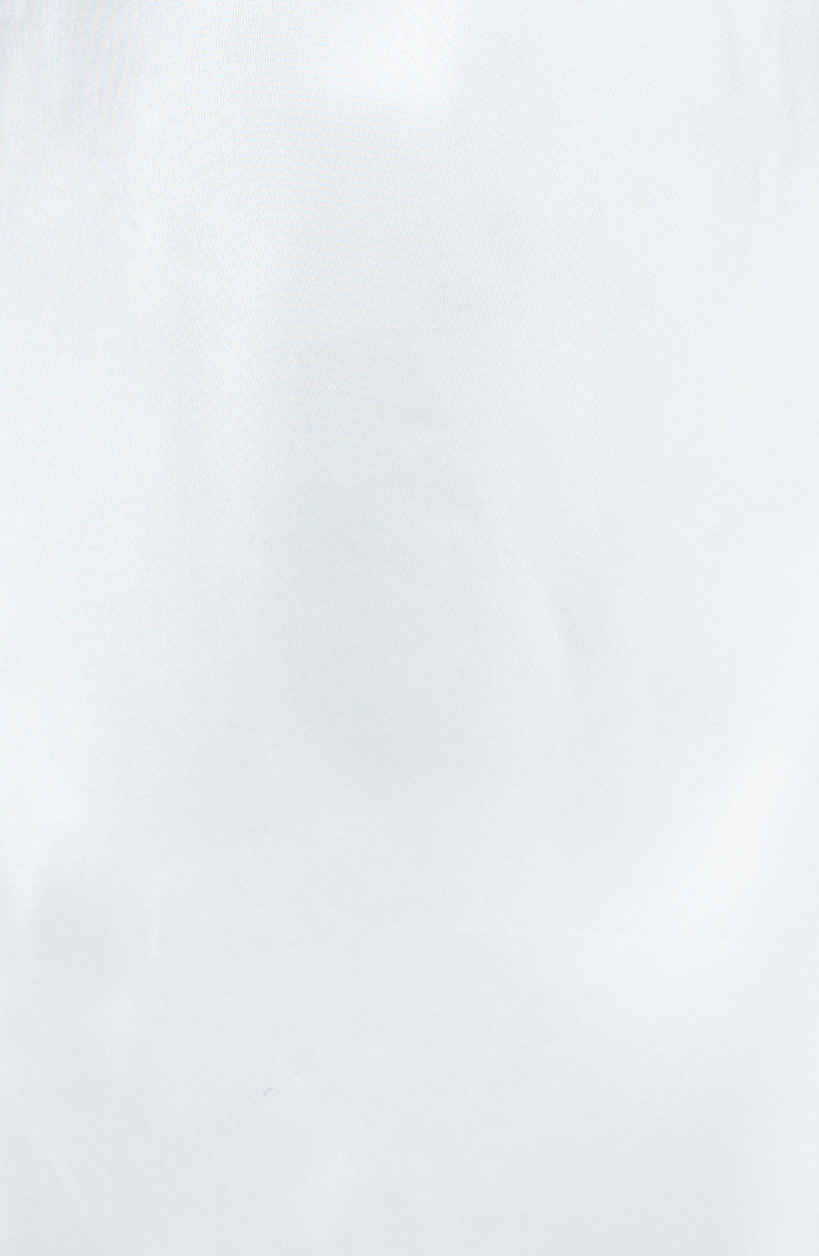 Off the Shoulder Satin Dress,                             Alternate thumbnail 5, color,                             405