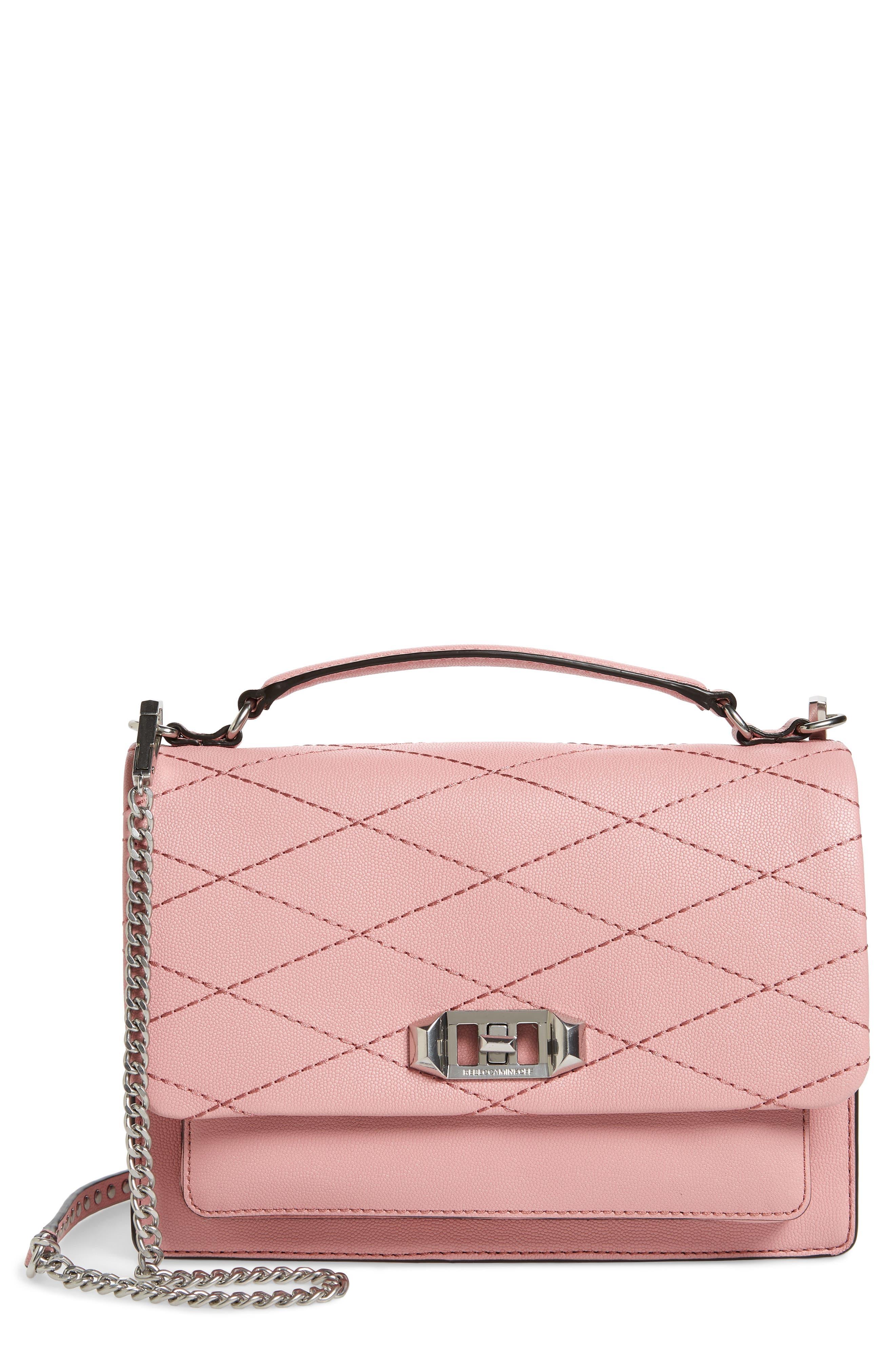 Medium Je T'aime Convertible Leather Crossbody Bag,                             Main thumbnail 9, color,