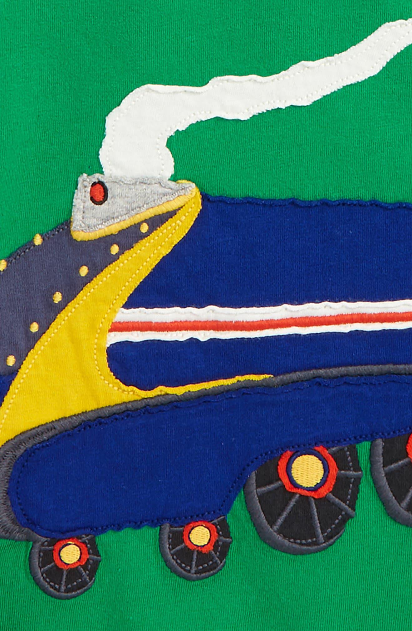 Vehicle Appliqué Layer T-Shirt,                             Alternate thumbnail 2, color,
