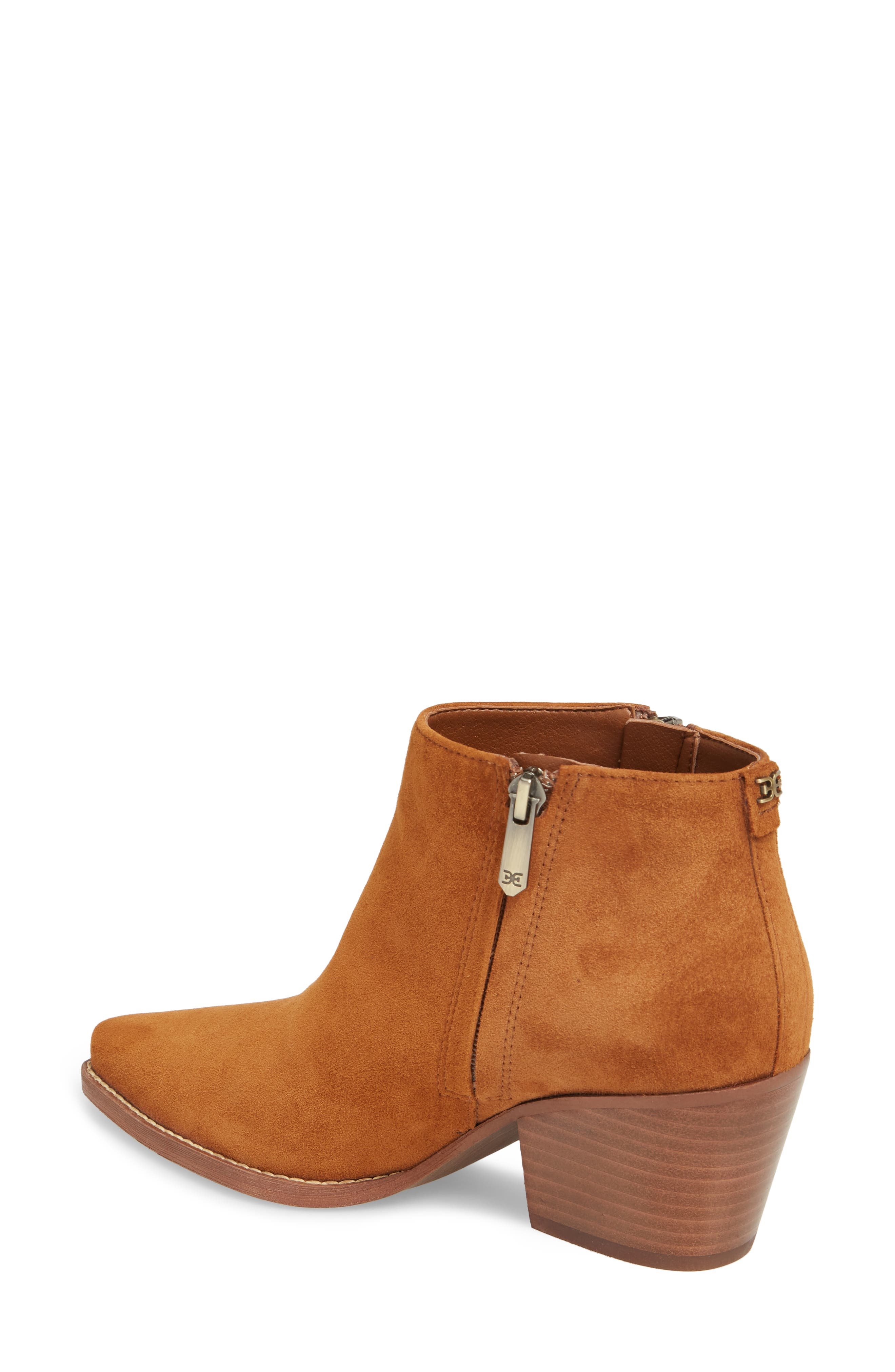 Walden Bootie,                             Alternate thumbnail 2, color,                             LUGGAGE SUEDE