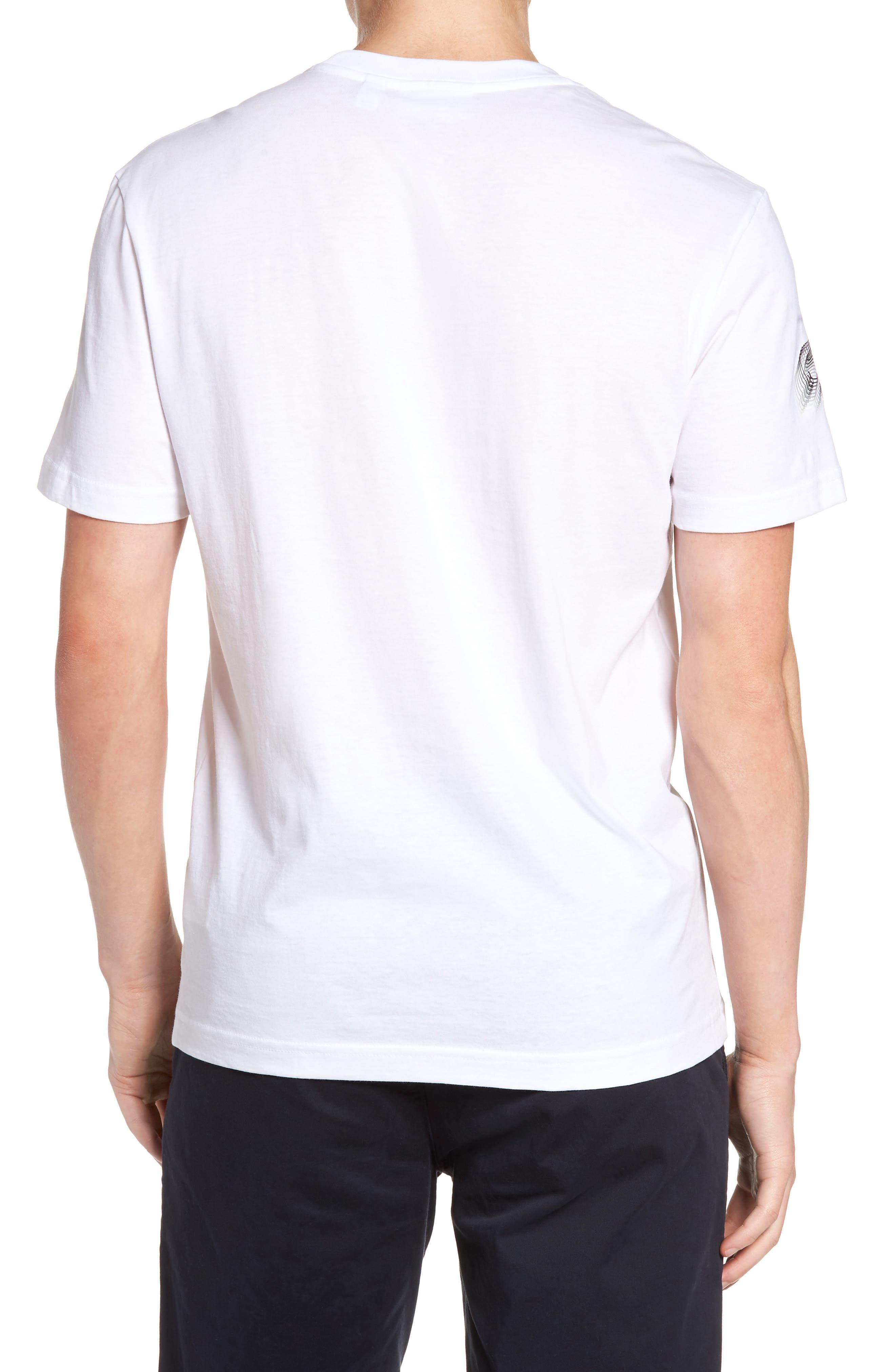 3D Print Logo Graphic T-Shirt,                             Alternate thumbnail 9, color,